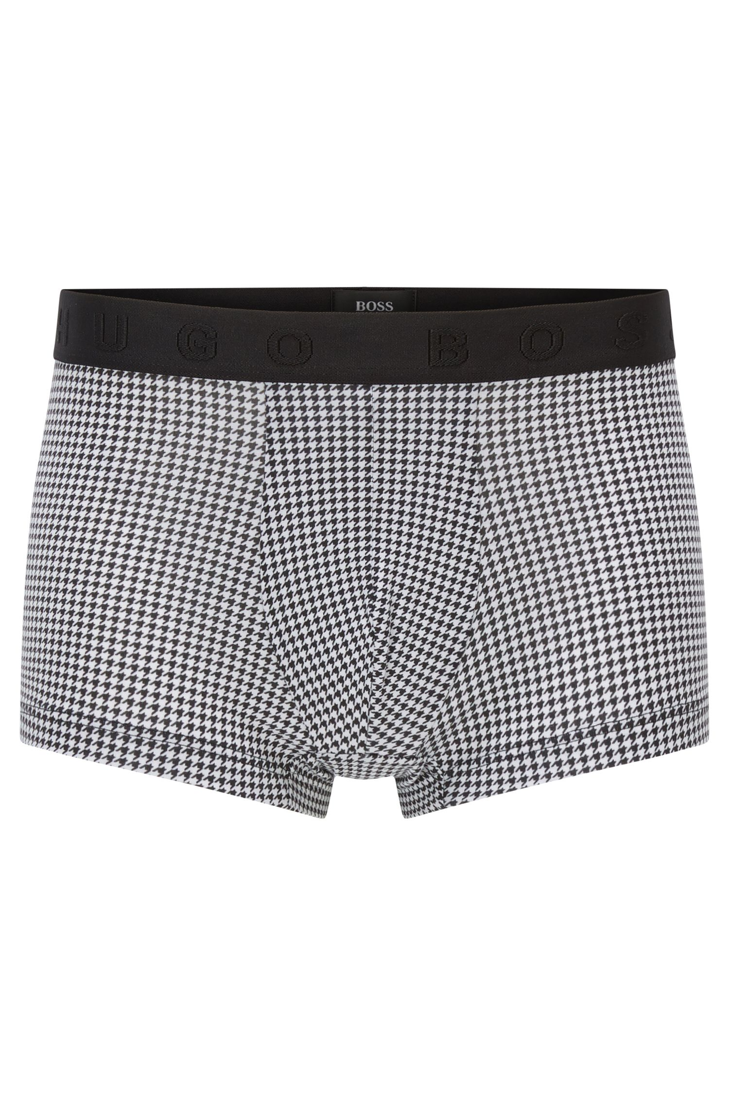 Stretch Cotton Modal Trunk | Trunk Microprint