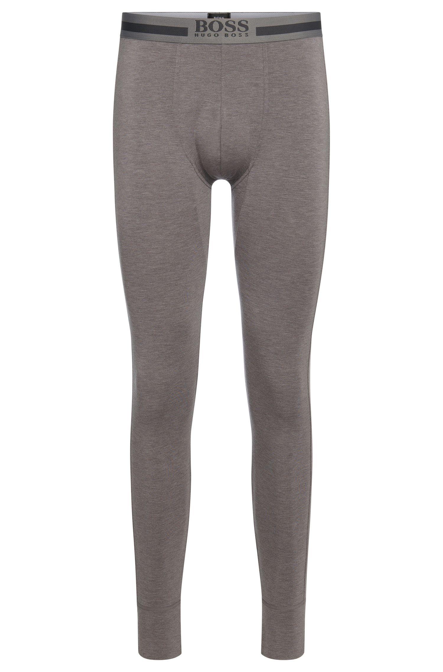 Stretch Viscose Thermal Legging | Long John Thermal, Dark Grey