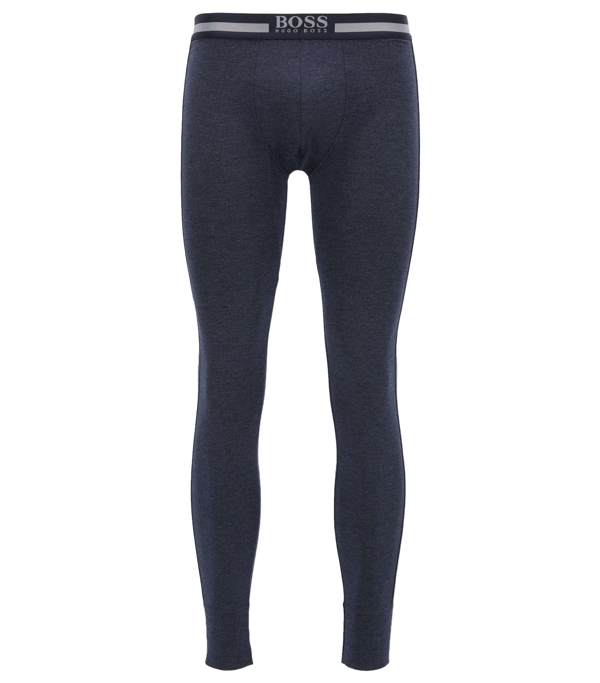 Stretch Viscose Thermal Legging | Long John Thermal, Dark Blue