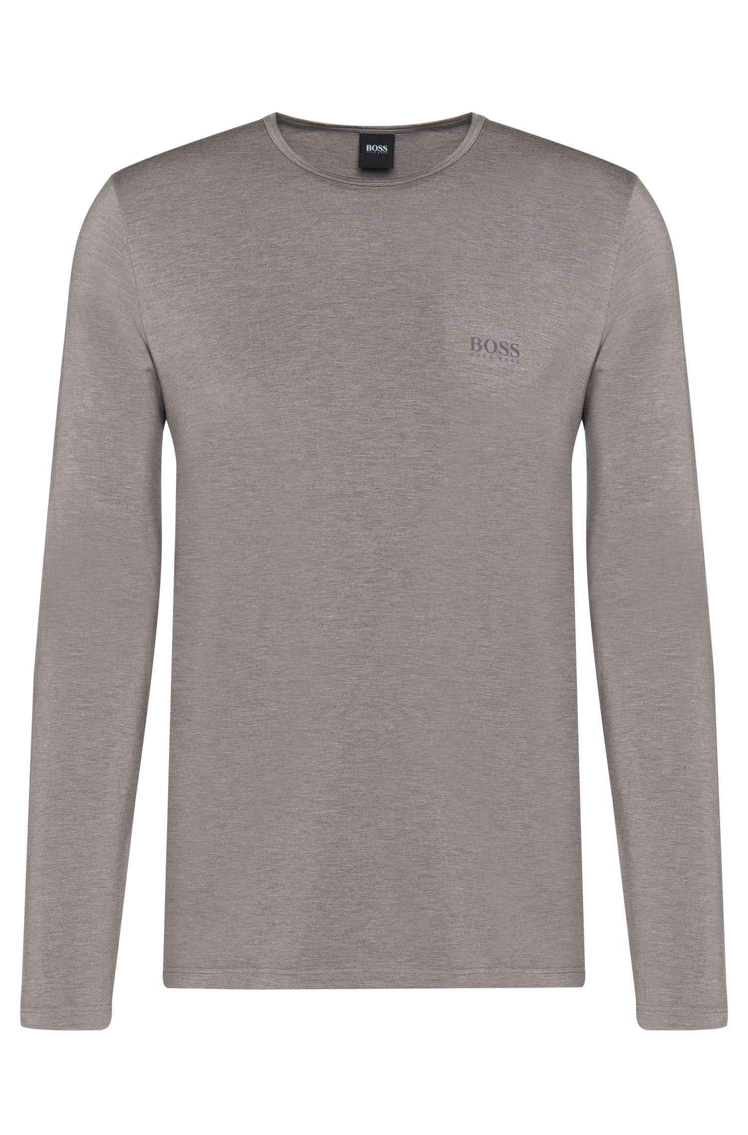 'LS Shirt RN Thermal' | Stretch Viscose Thermal Long Sleeve T-Shirt