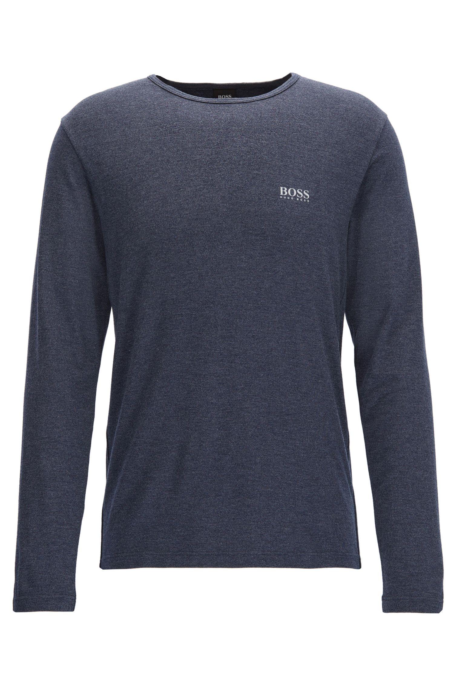 Stretch Thermal Long Sleeve T-Shirt | LS Shirt RN Thermal, Dark Blue