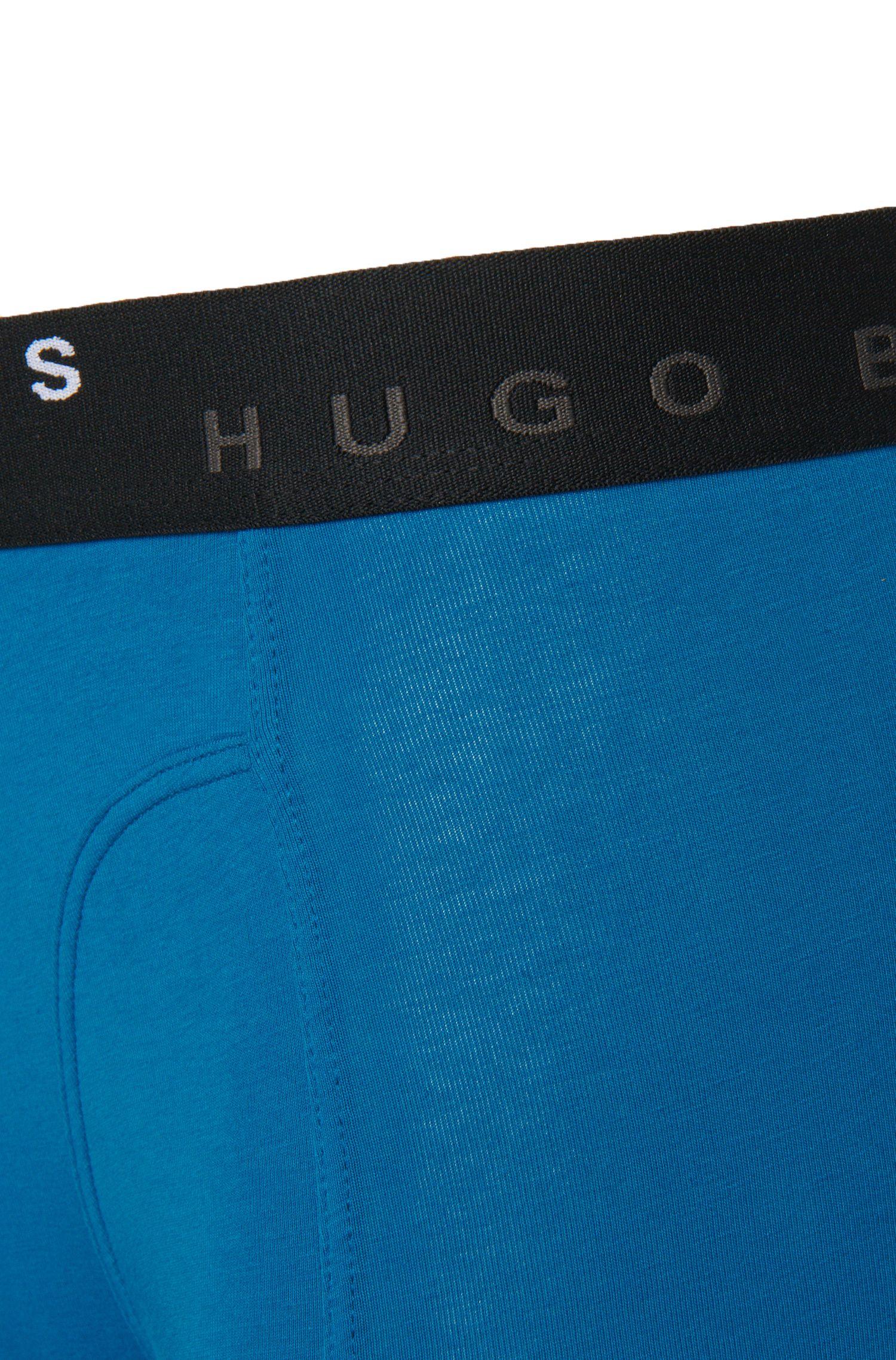 Stretch Cotton Boxer Briefs, 2-Pack | Boxer Brief 2P Solid, Open Blue