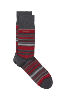 Stretch Cotton Blend Sock | 'RS Design US, Grey
