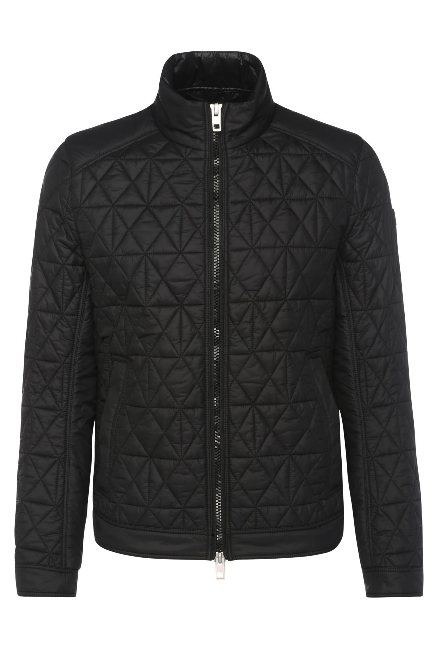 Nylon Padded Quilted Jacket   Obray