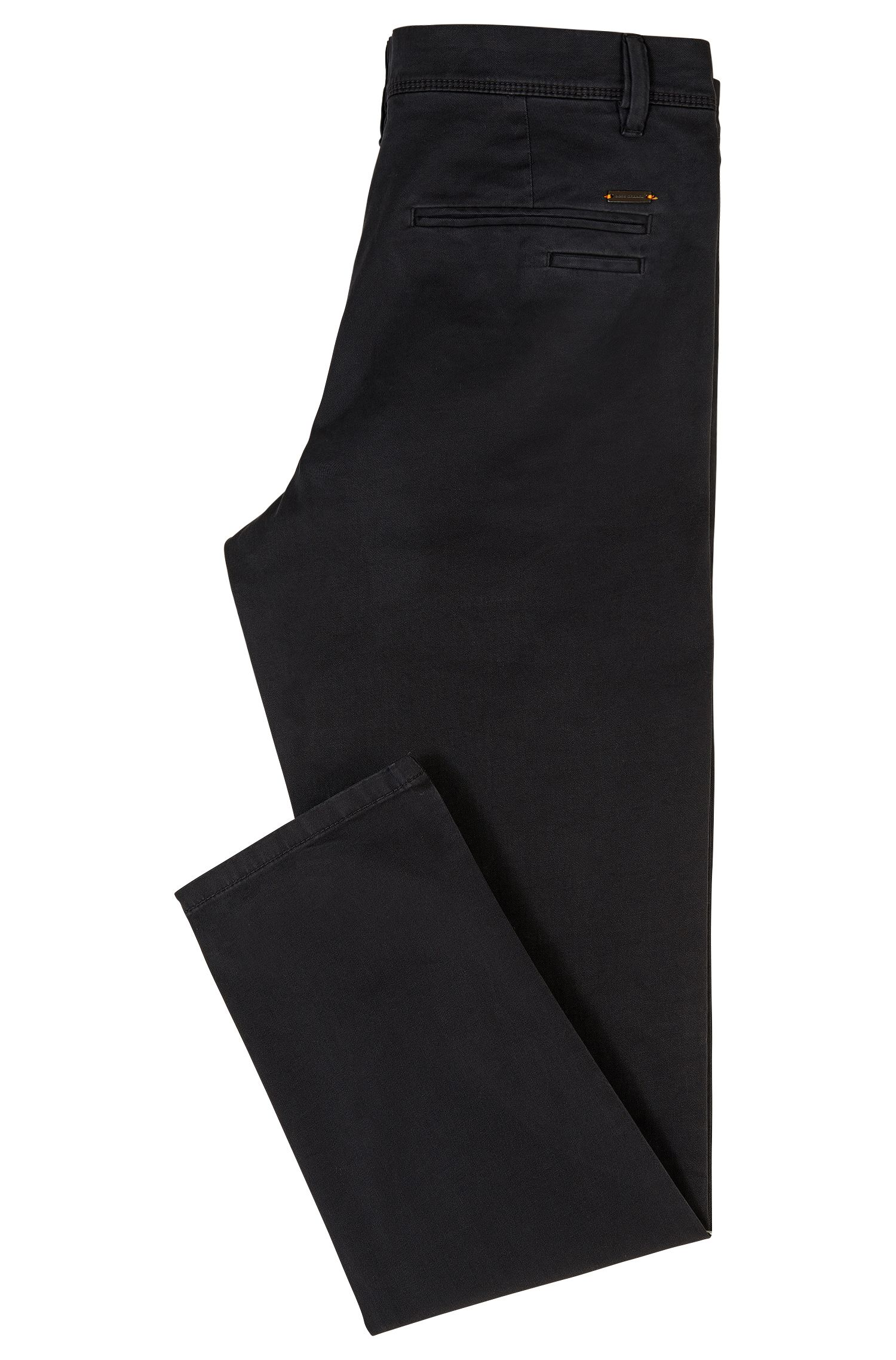 Stretch Cotton Chino Pants, Tapered Fit | Schino Tapered D