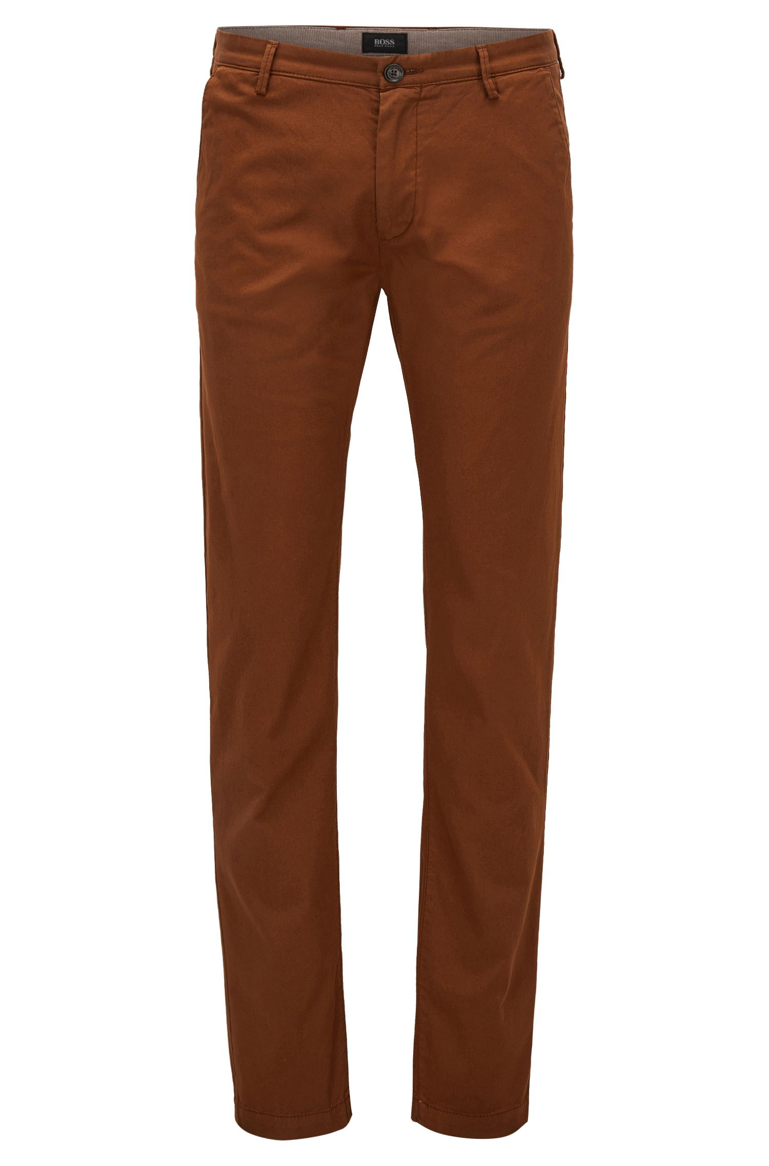 Cotton Stretch Chino Pant, Slim Fit | Rice D