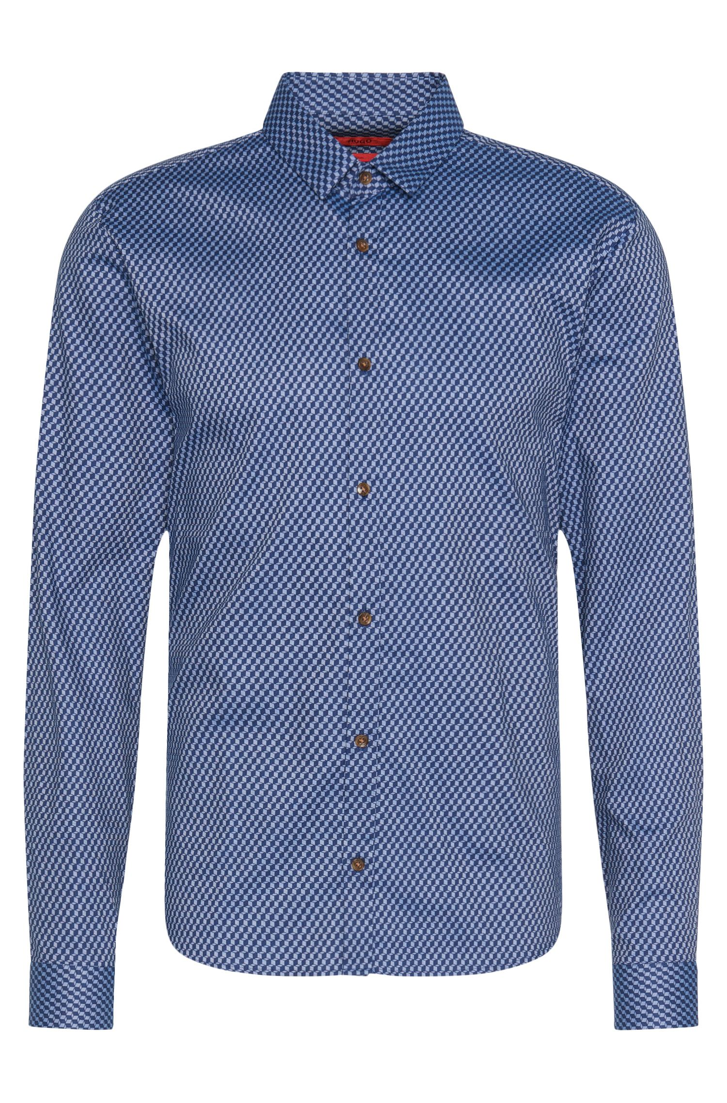 'Ero' | 'Slim Fit, Cotton Button Down Shirt
