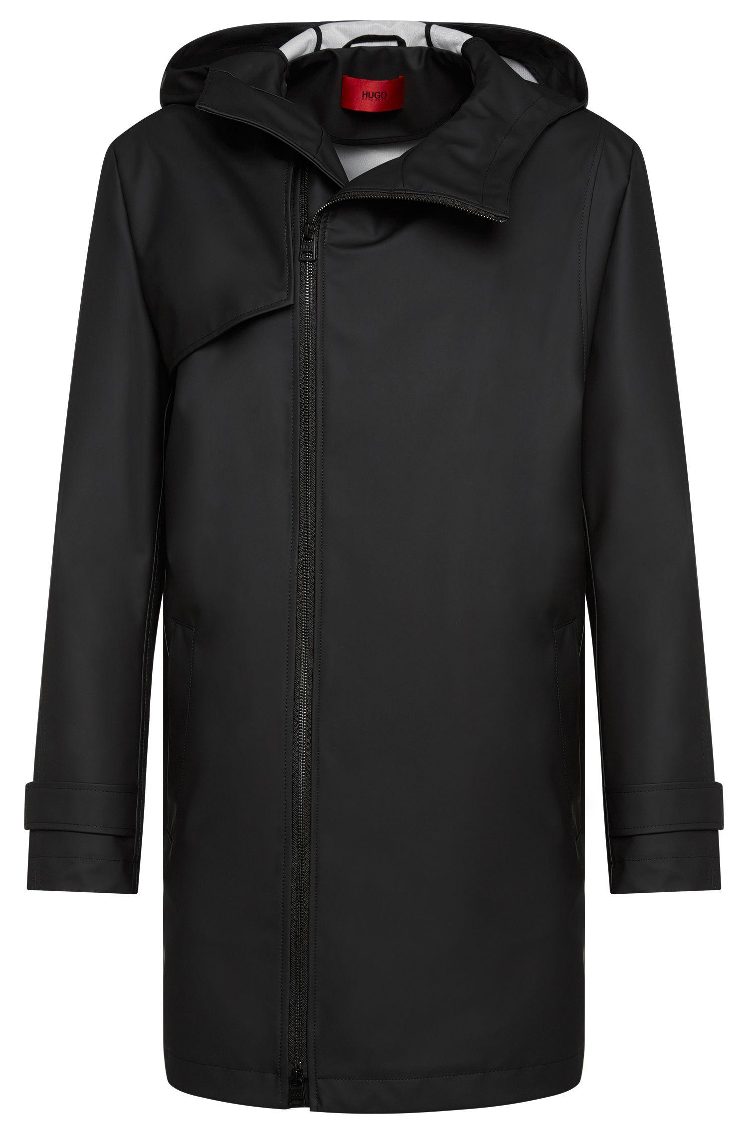 'Menoz' | Water Repellent Hooded Rain Coat