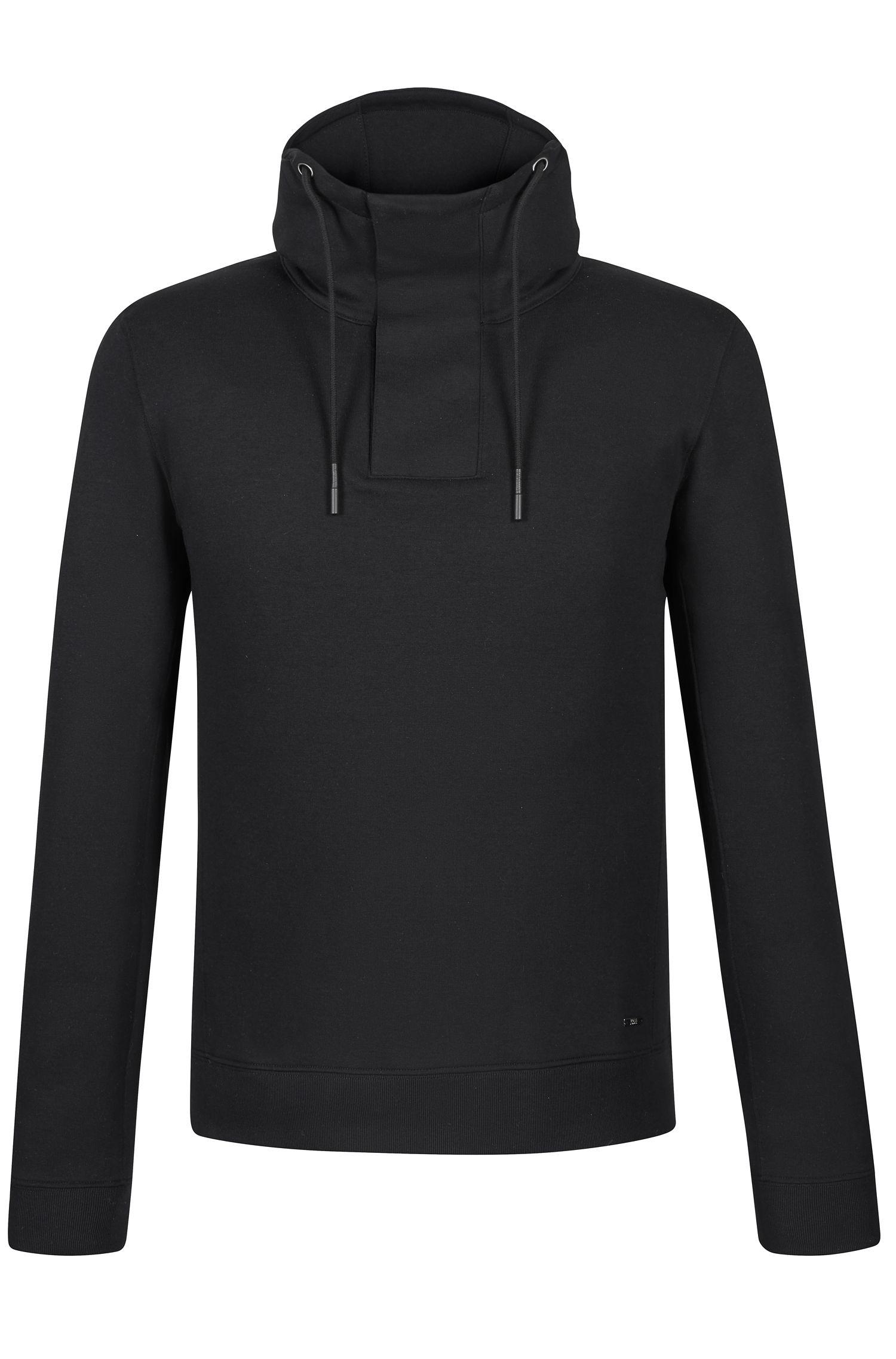 'Seeger' | Cotton Blend Hooded Sweatshirt