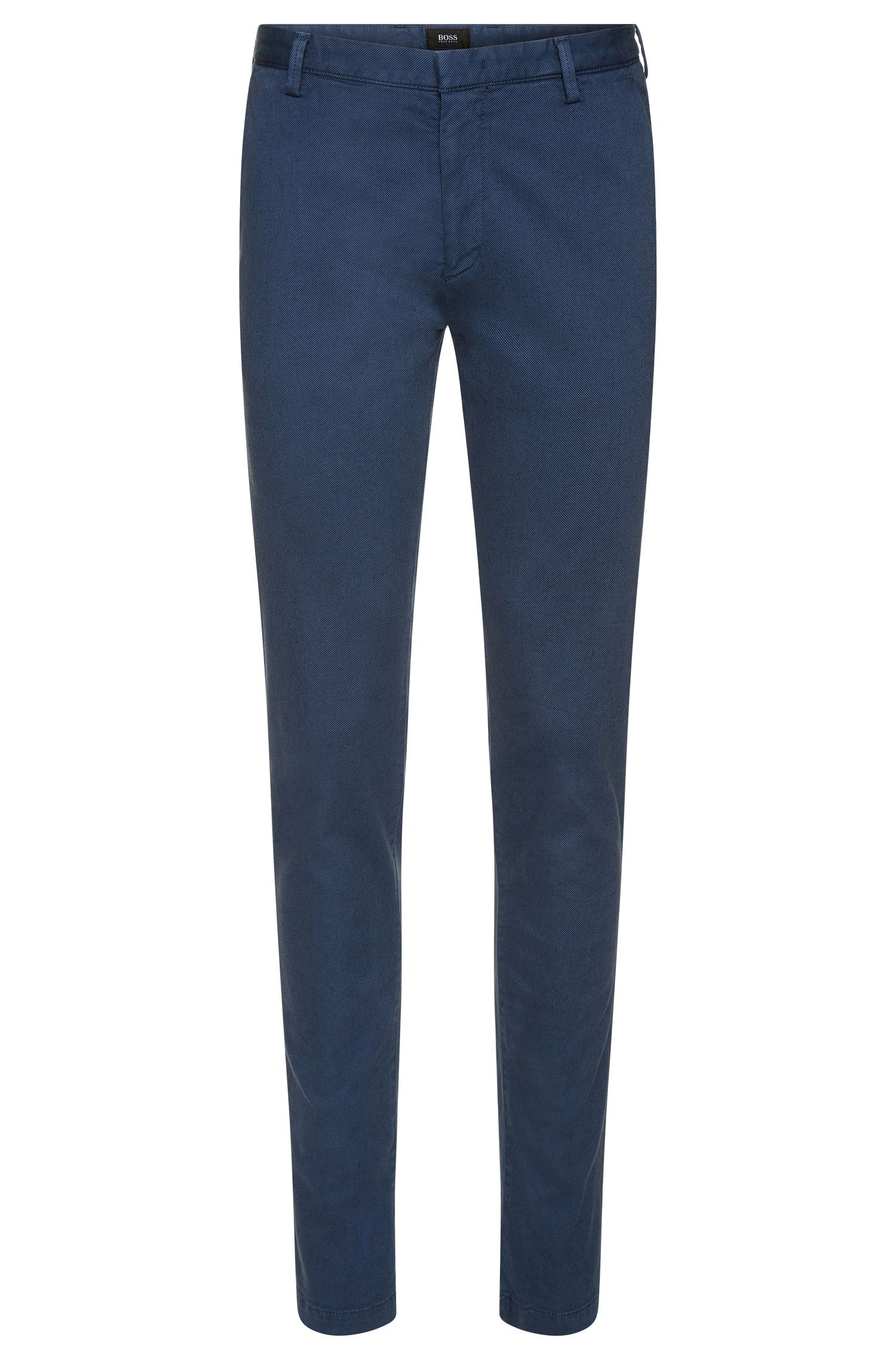 Stretch Cotton Gabardine Pant, Slim Fit | Rice D