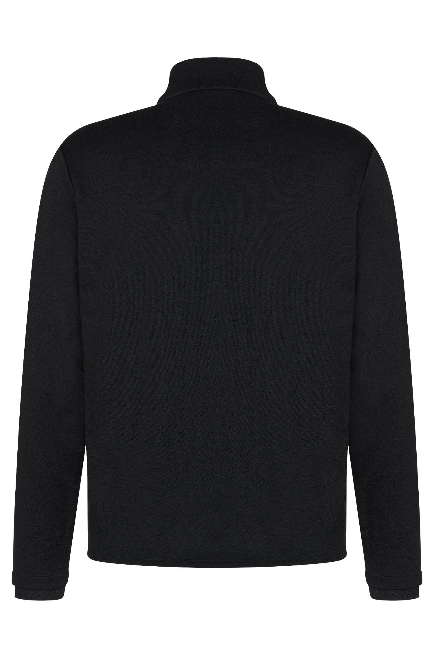 'Sidney' | Mercerized Cotton Troyer Long Sleeve T-Shirt