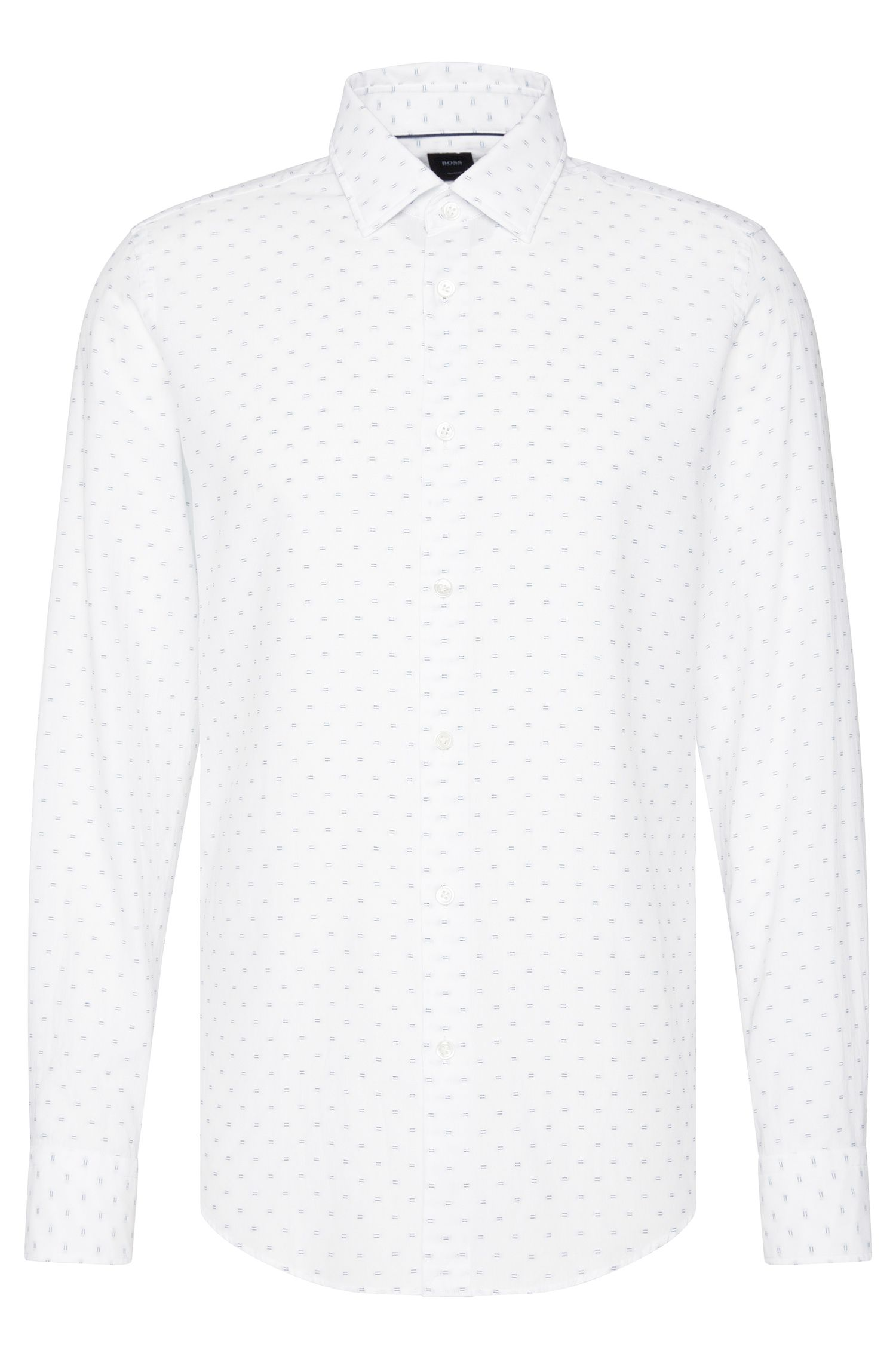 'T-Landon F' | Regular Fit, Italian Cotton Button Down Shirt