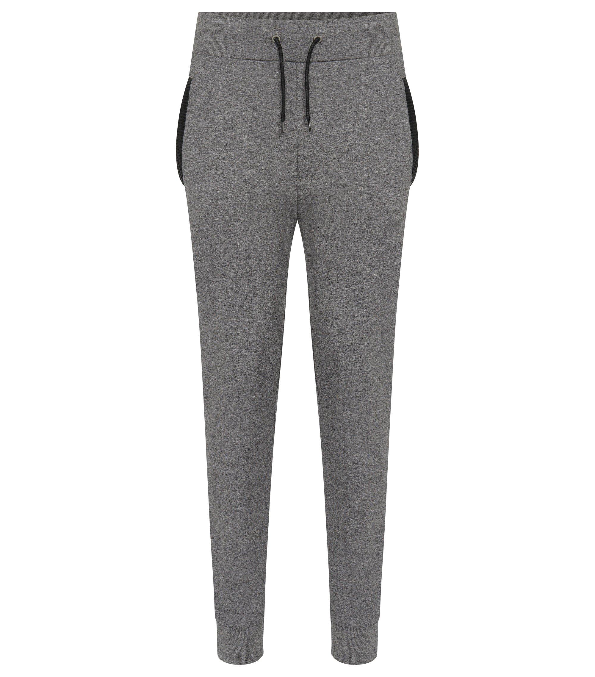 Cotton Drawstring Sweatpant | Drontier, Open Grey