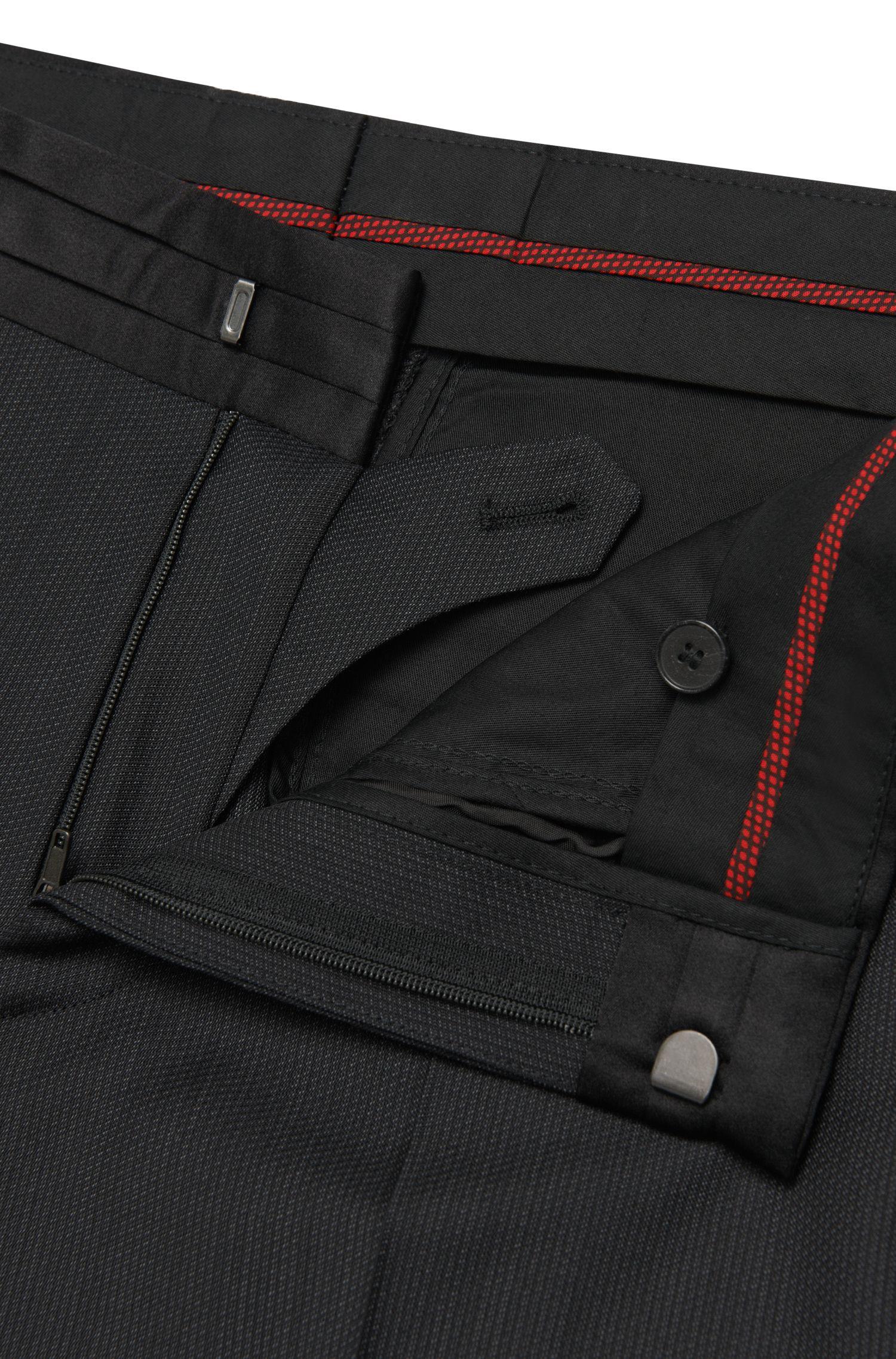 Super 110 Virgin Wool Tuxedo, Extra-Slim Fit   Anros/Himans