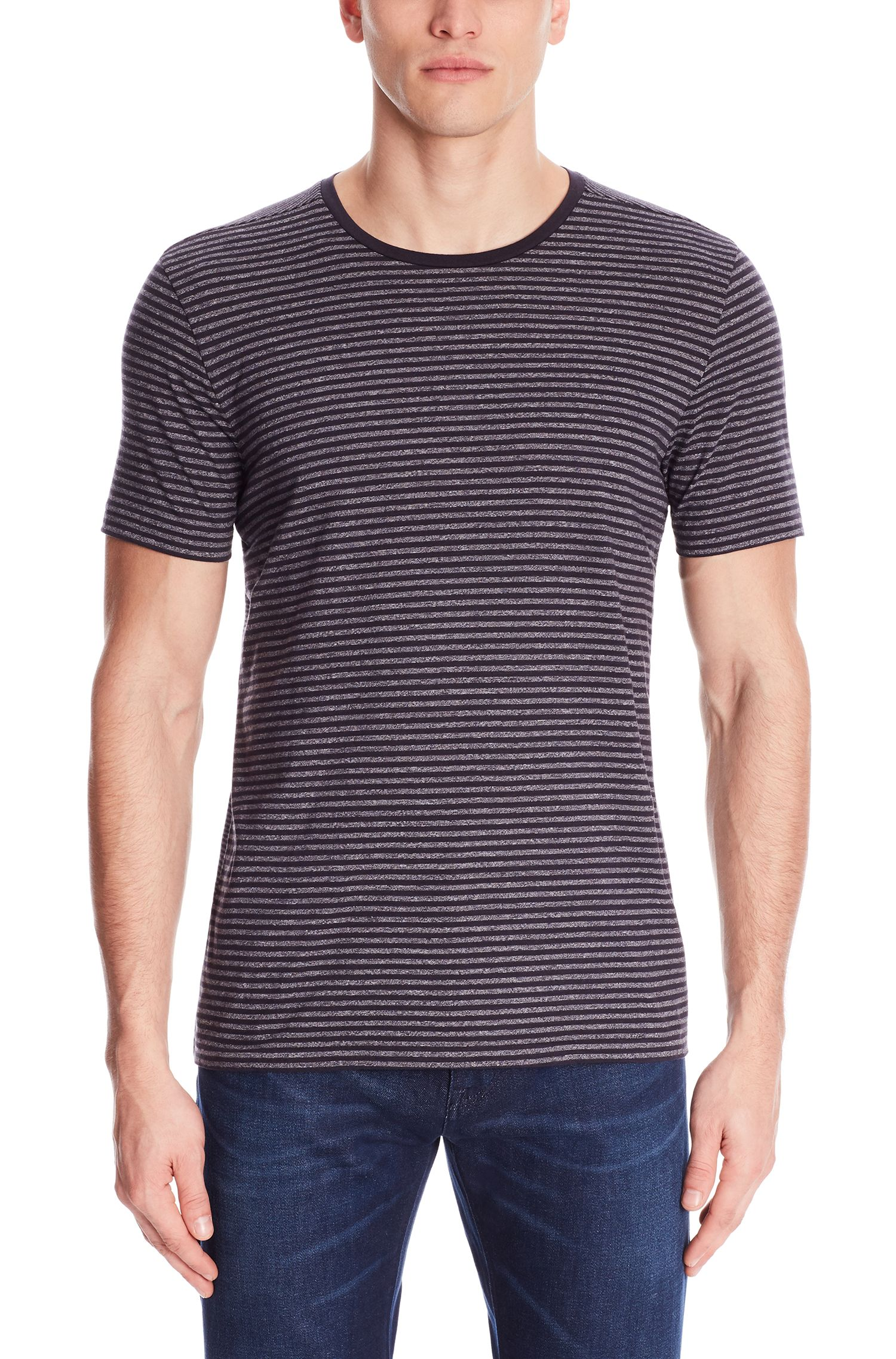 Striped Crew T-Shirt | Tessler