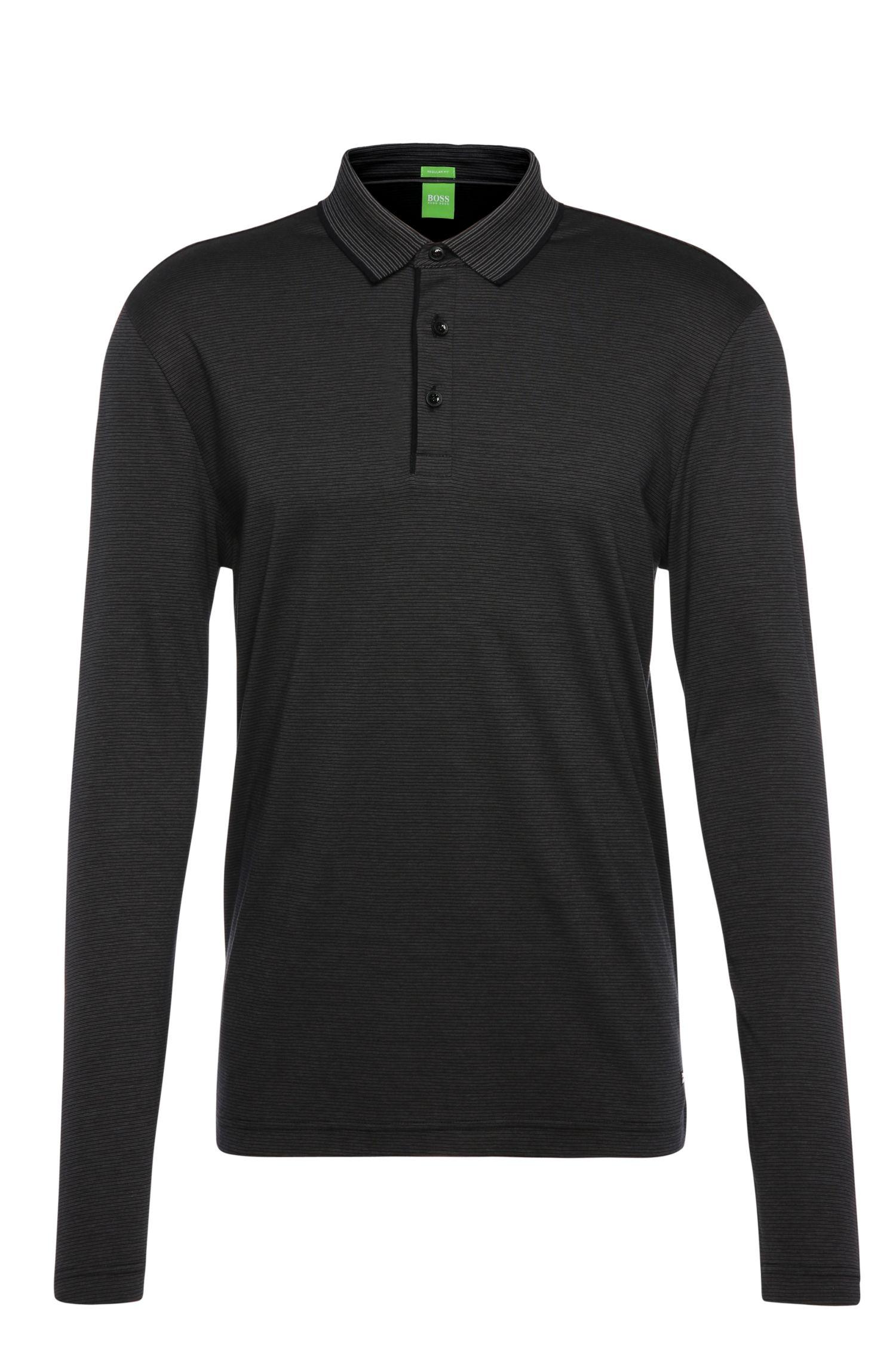 Cotton Polo Shirt, Regular Fit | C-Prato