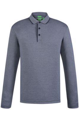 Cotton Polo Shirt, Regular Fit | C-Prato, Dark Blue
