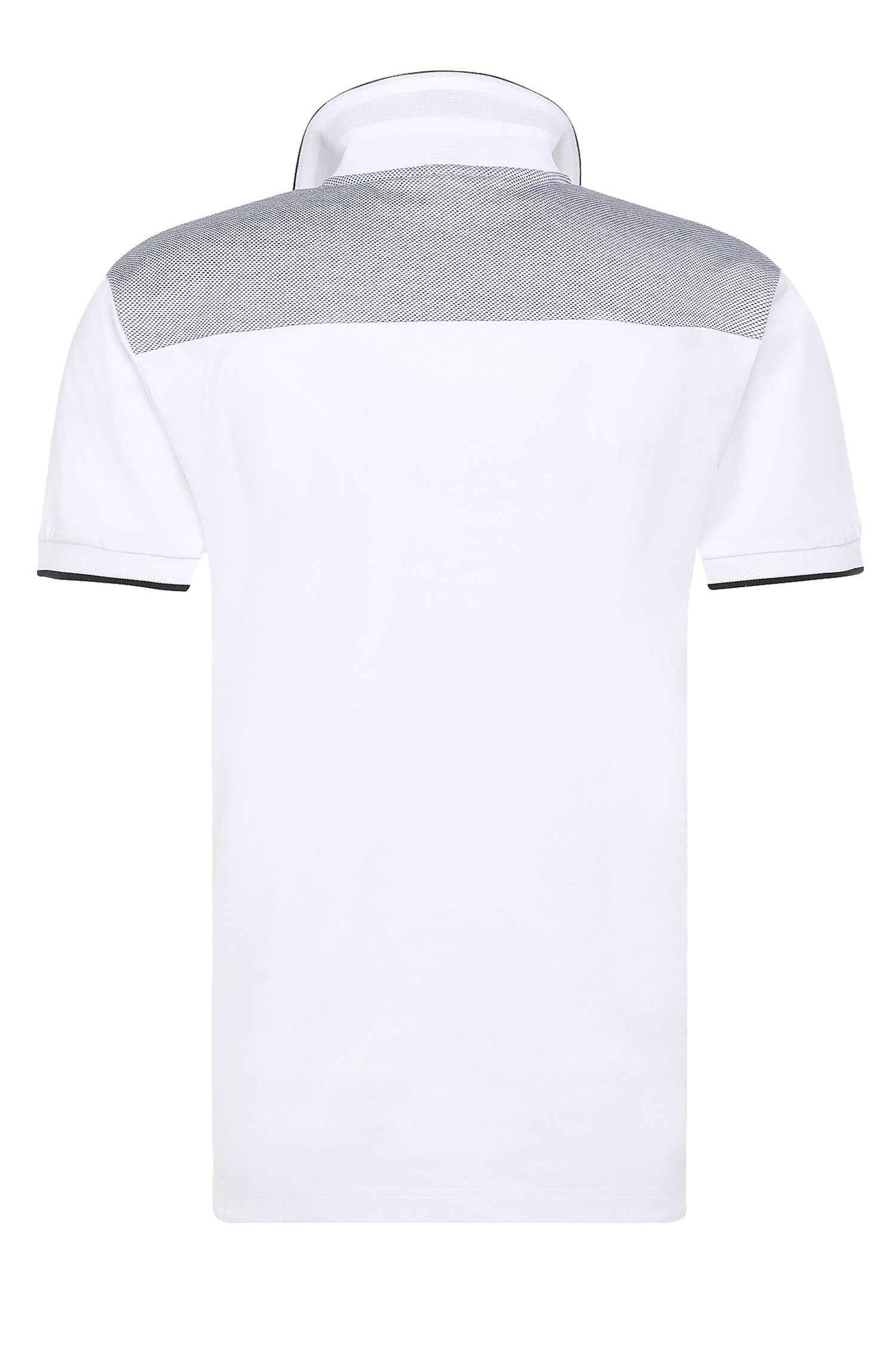 Cotton Polo Shirt, Regular Fit | Pavel, White