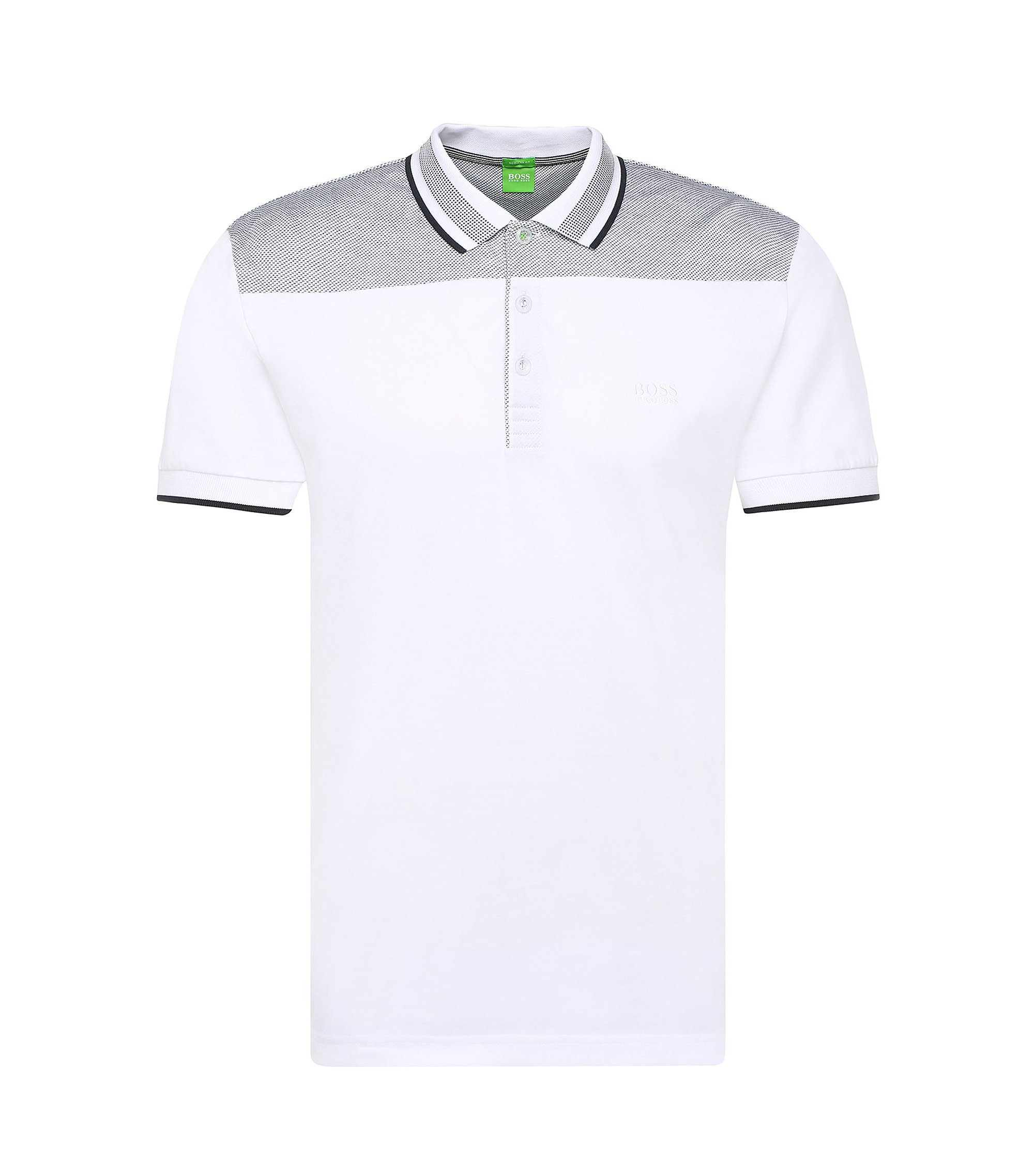 Cotton Polo Shirt, Regular Fit | Pavel, White