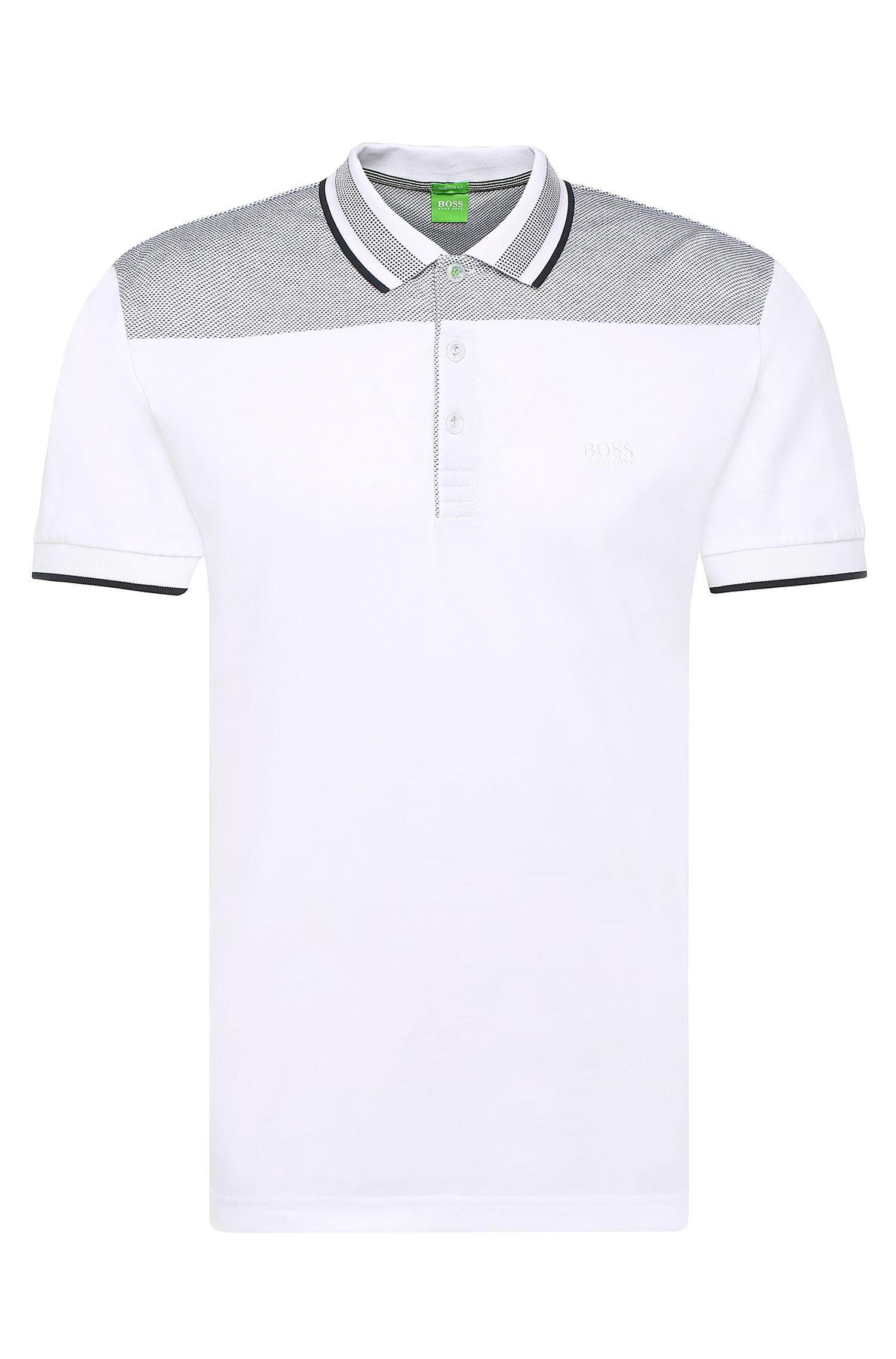 'Pavel' | Regular Fit, Cotton Polo Shirt