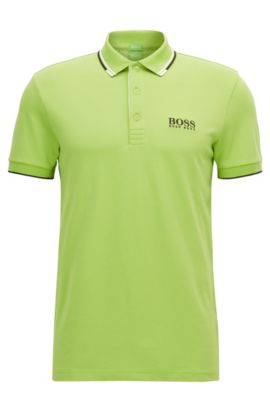 Moisture Manager Stretch Cotton  Polo Shirt, Regular Fit | Paddy Pro, Light Green