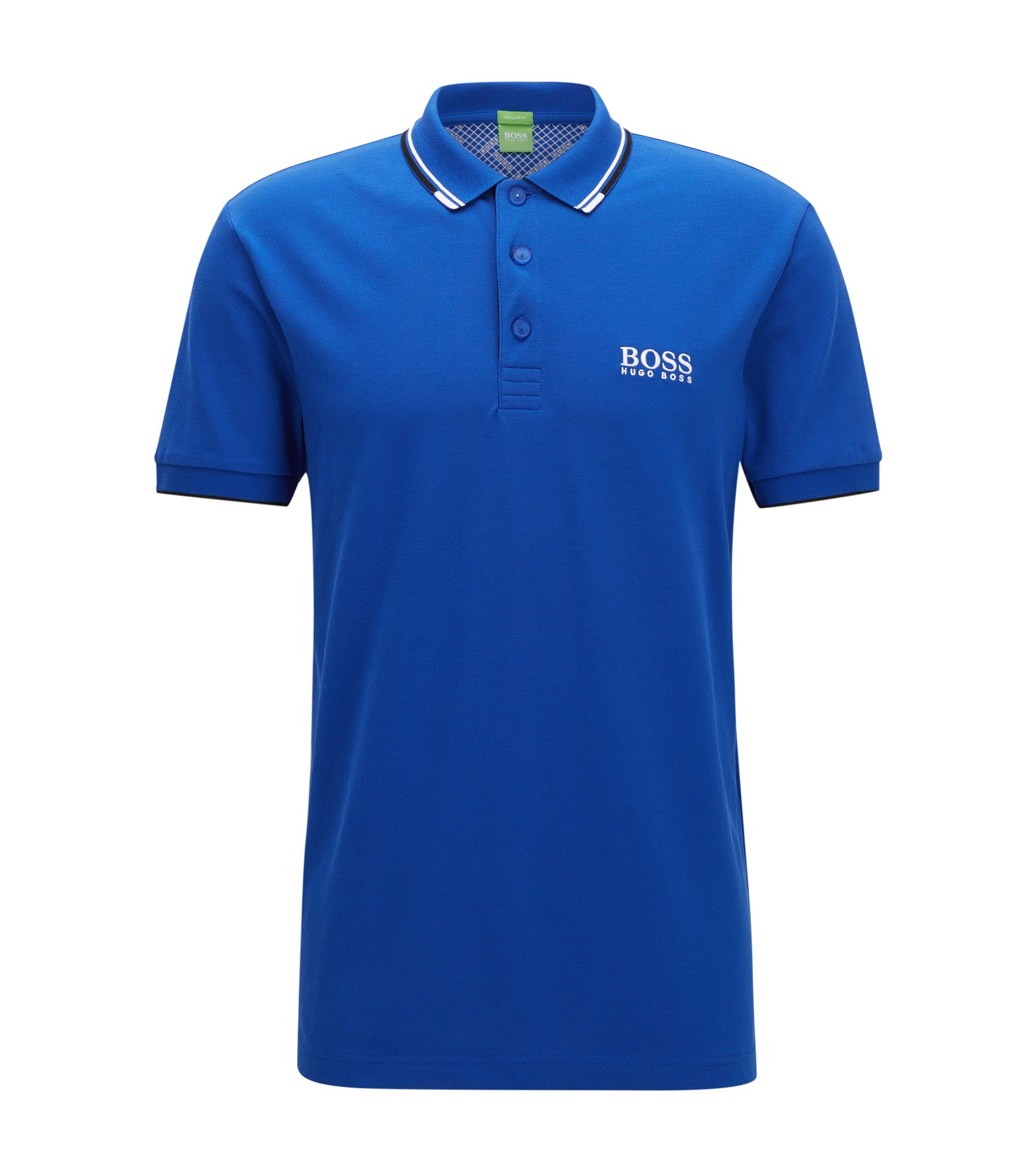 Moisture Manager Stretch Polo Shirt, Regular Fit | Paddy Pro, Blue