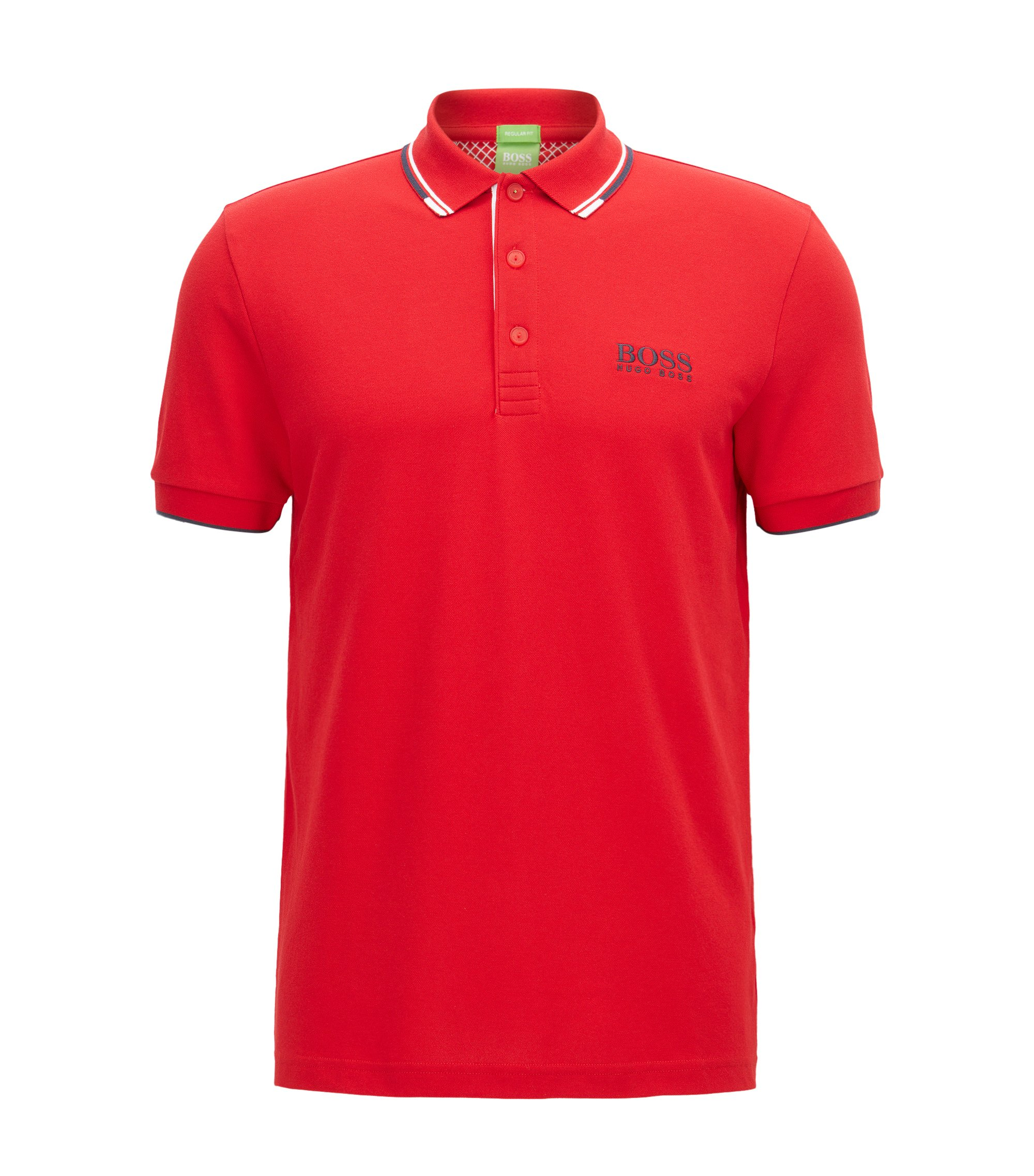 Moisture Manager Stretch Polo Shirt, Regular Fit | Paddy Pro, Red