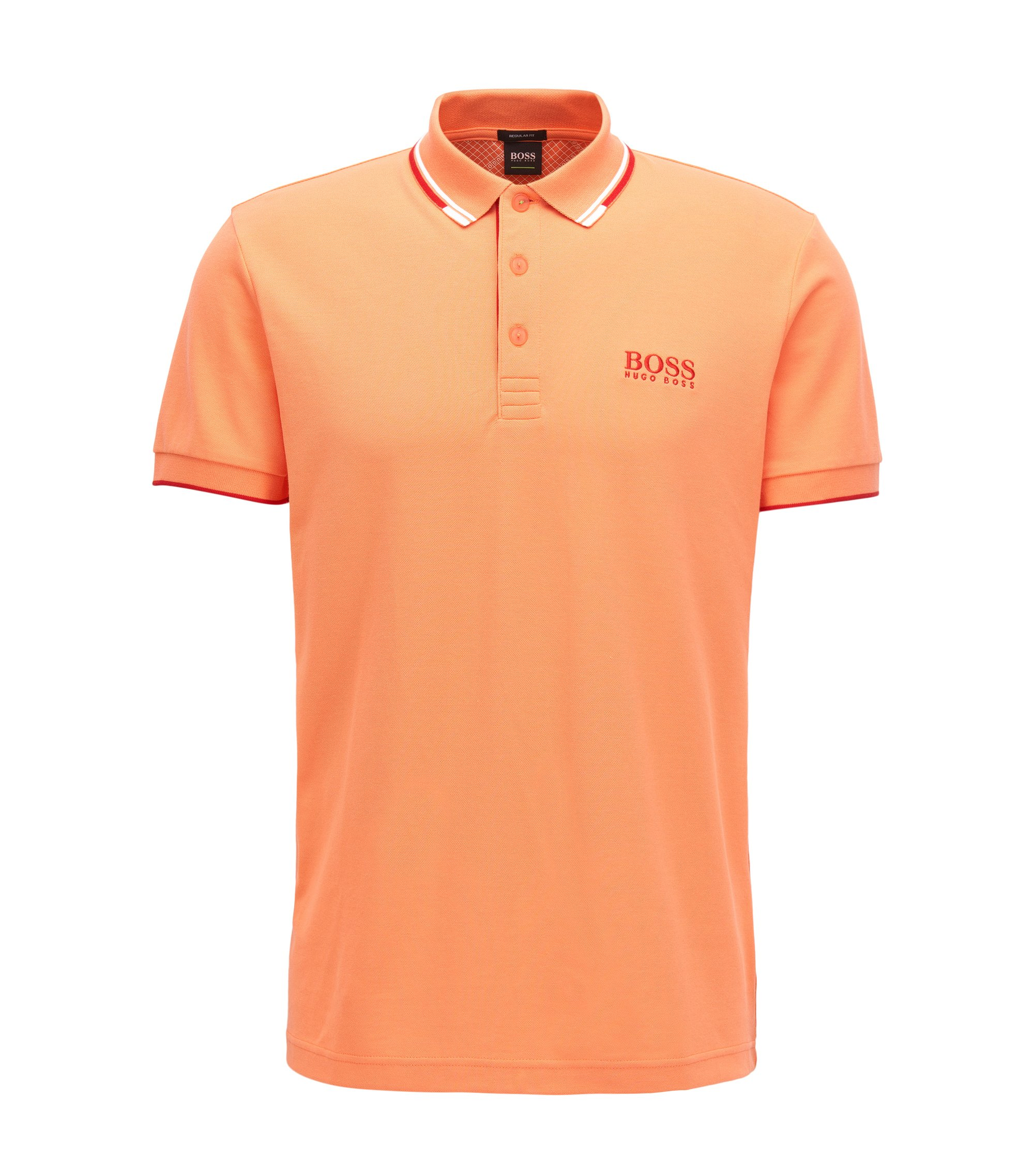 Moisture Manager Stretch Polo Shirt, Regular Fit | Paddy Pro, Open Red