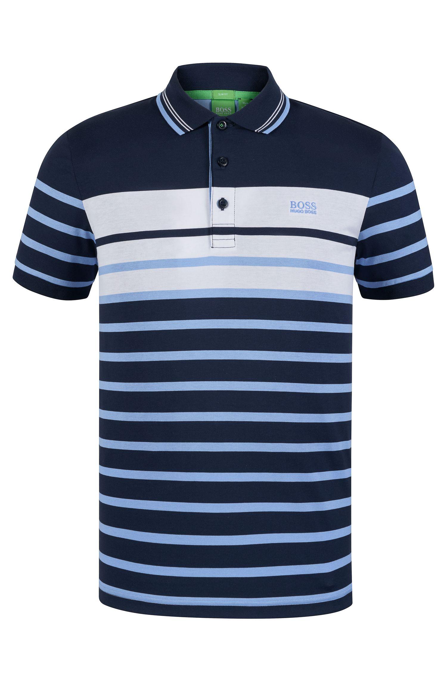 'Paule'   Slim Fit, Cotton Polo Shirt