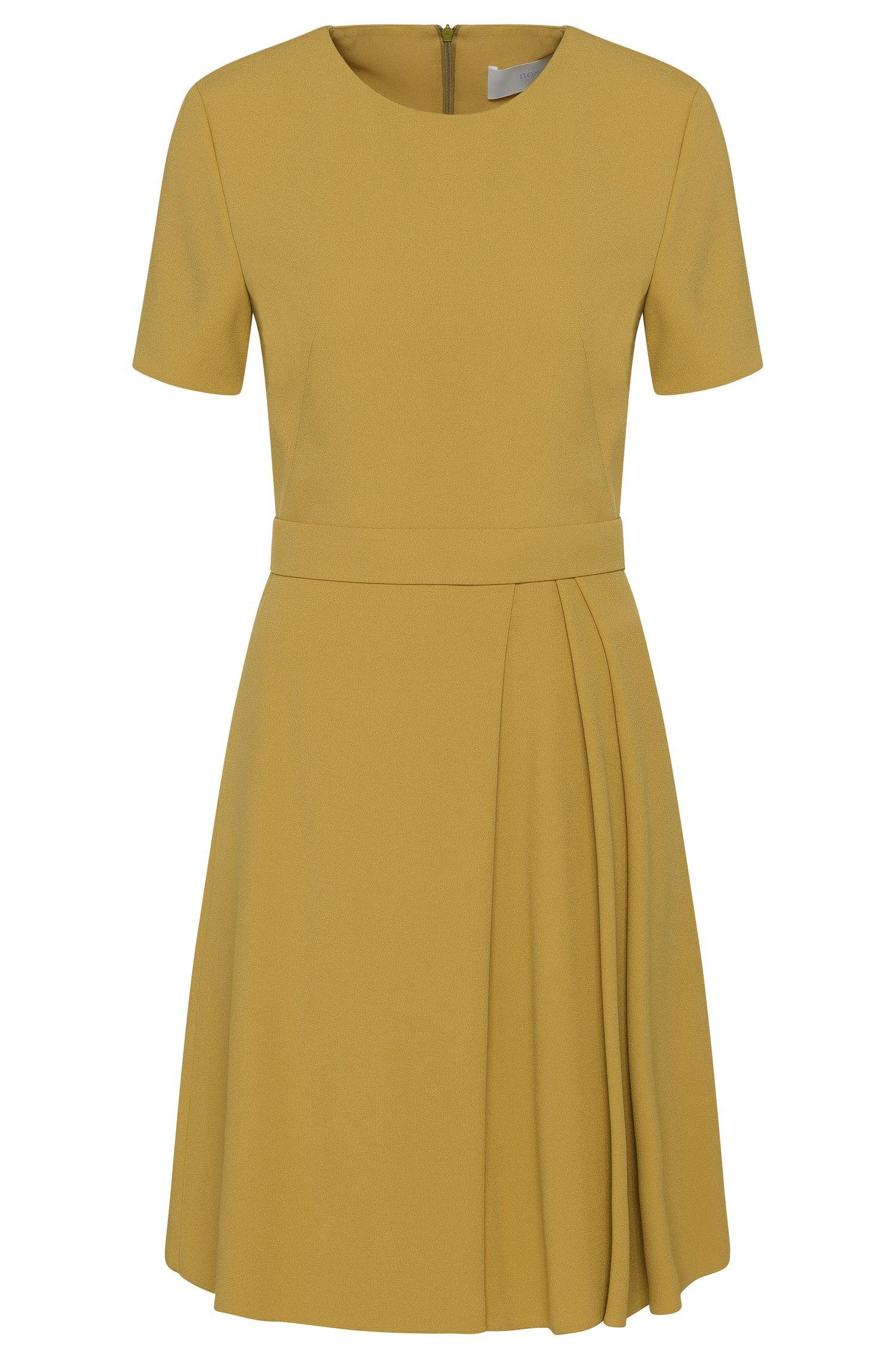 'Dalinkana' | Crepe A-Line Pleated Dress