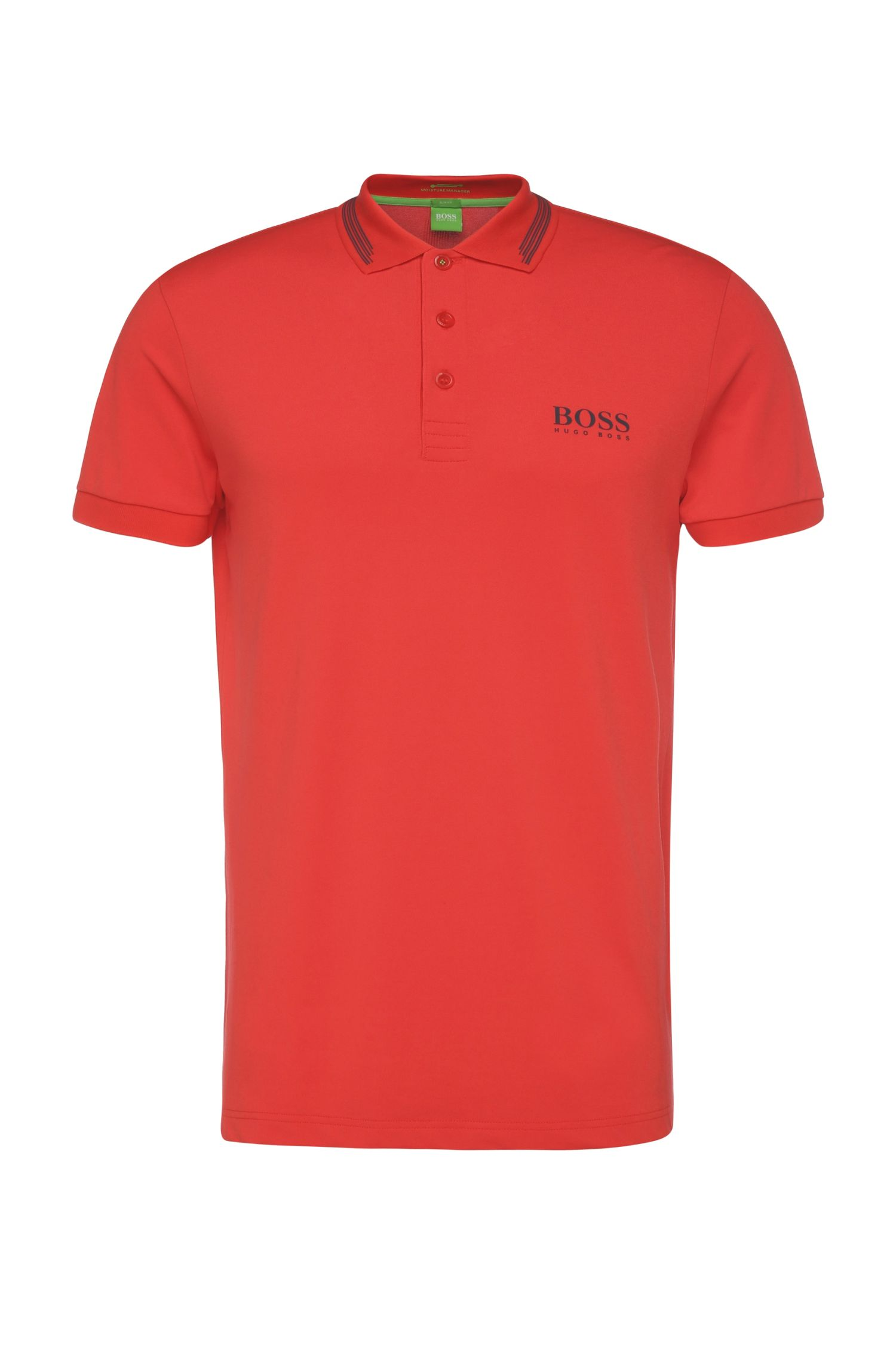 'Paule Pro'   Slim Fit, Moisture Manager Stretch Cotton Blend Polo Shirt