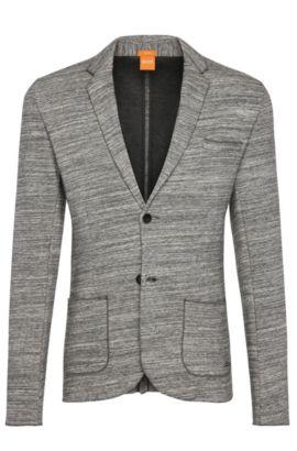 'Wellford' | Slim Fit, Cotton Pique Sweat Sport Coat, Light Grey
