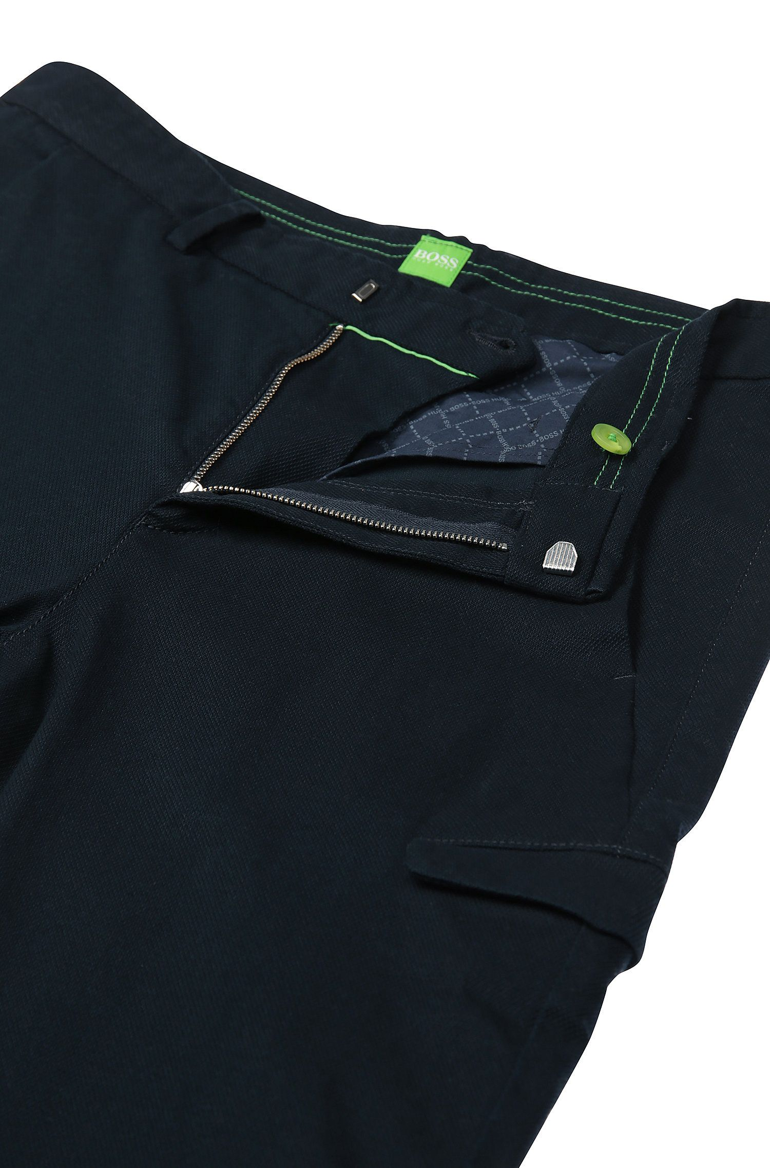 Cotton Cargo Pant, Slim Fit | Loomes W