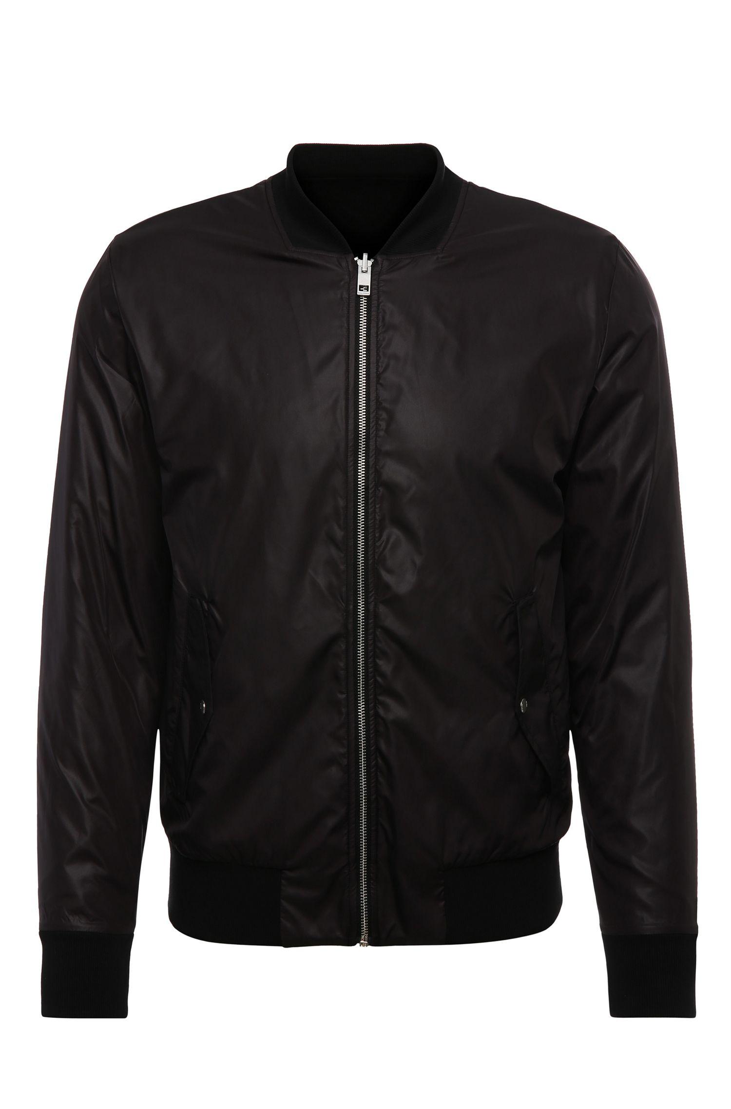 Nylon Bomber Jacket | Zstreets