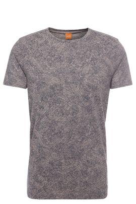 'Tauryon' | Cotton Modal Blend Printed T-Shirt, light pink