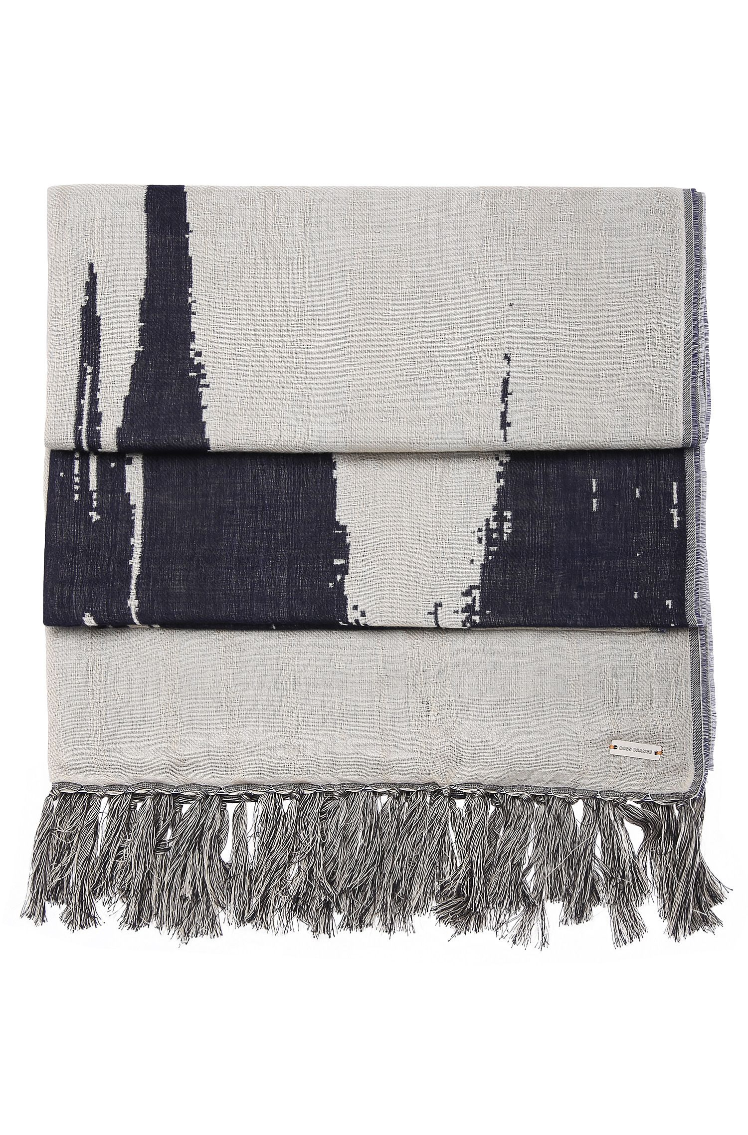 Cotton Wool Patterned Scarf | Nod