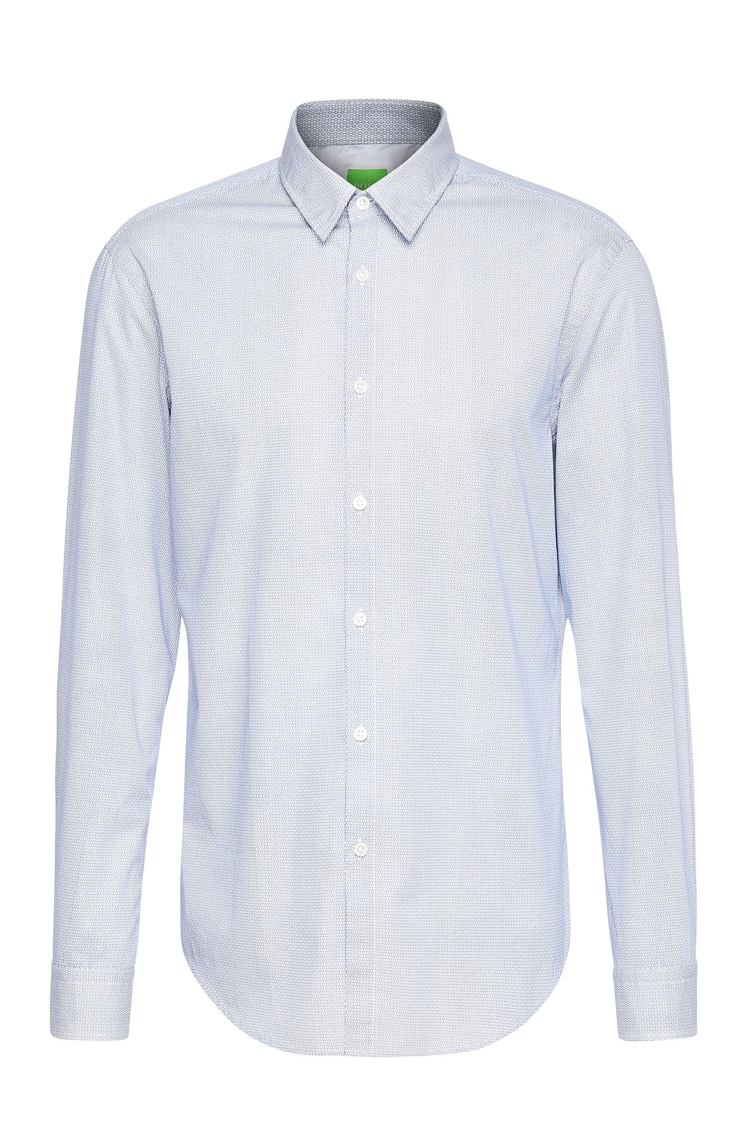 'C-Bustai' | Modern Fit, Cotton Button Down Shirt