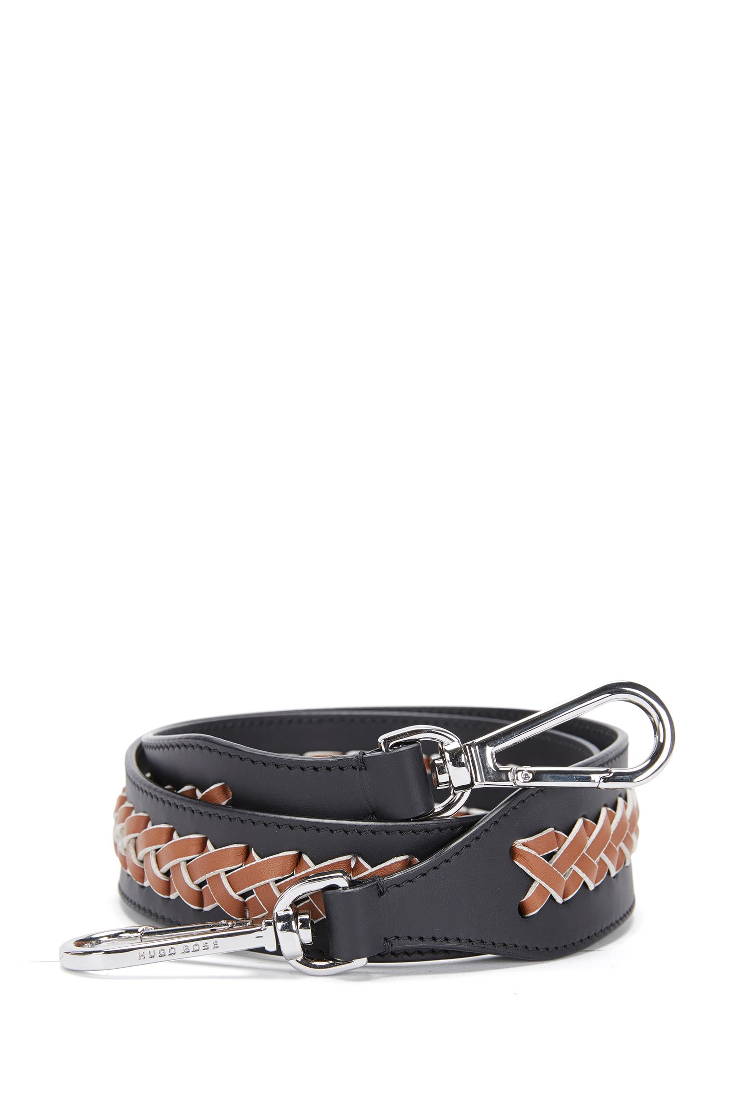 'Braid S Strap' | Calfskin Interchangeable Braided Handbag Strap