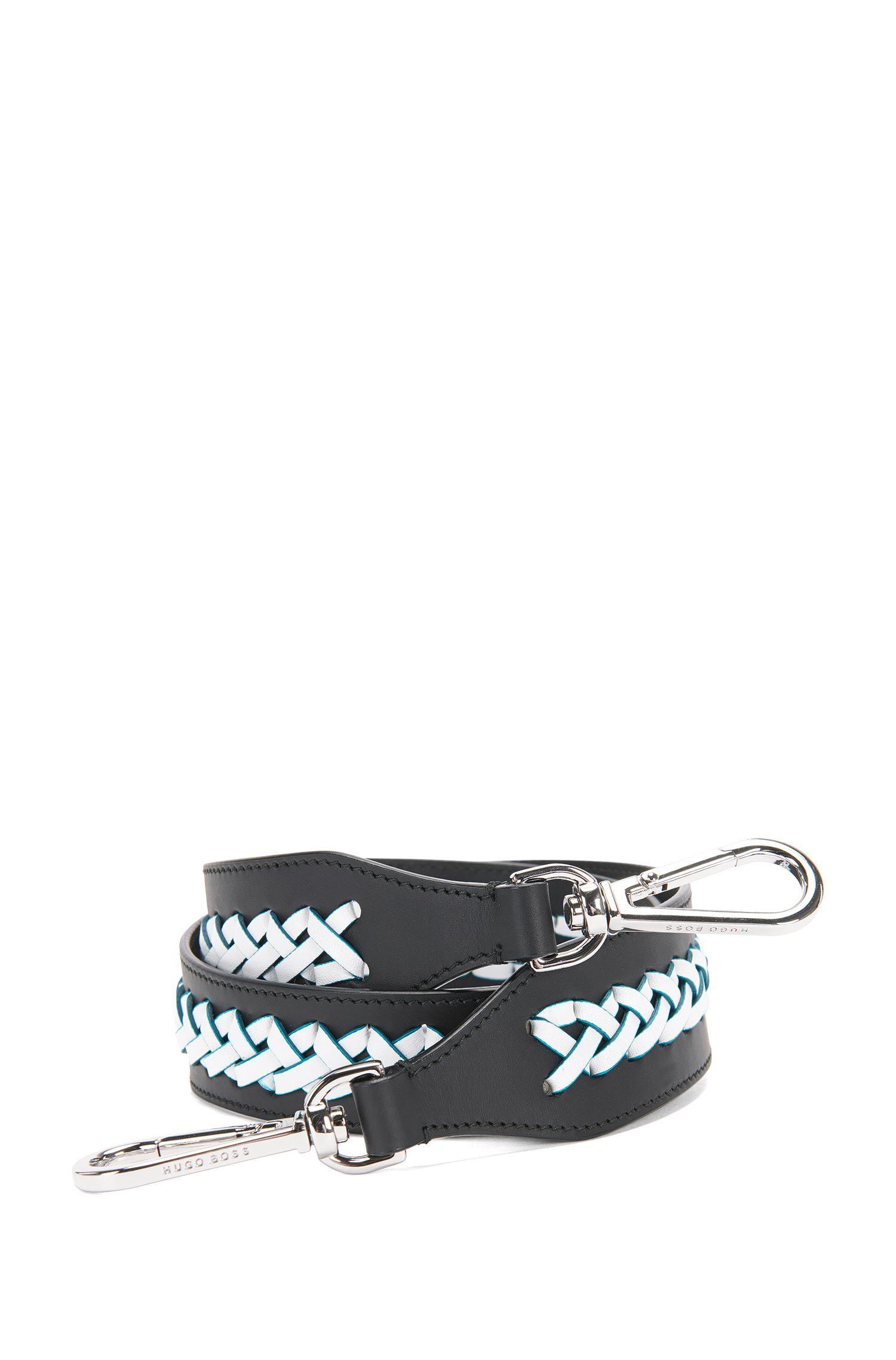 'Braid S Strap'   Calfskin Interchangeable Braided Handbag Strap
