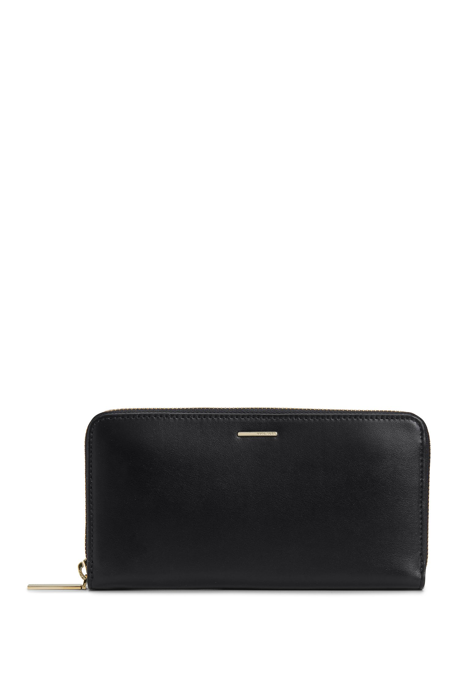 'Staple Ziparound N' | Leather Zip Wallet