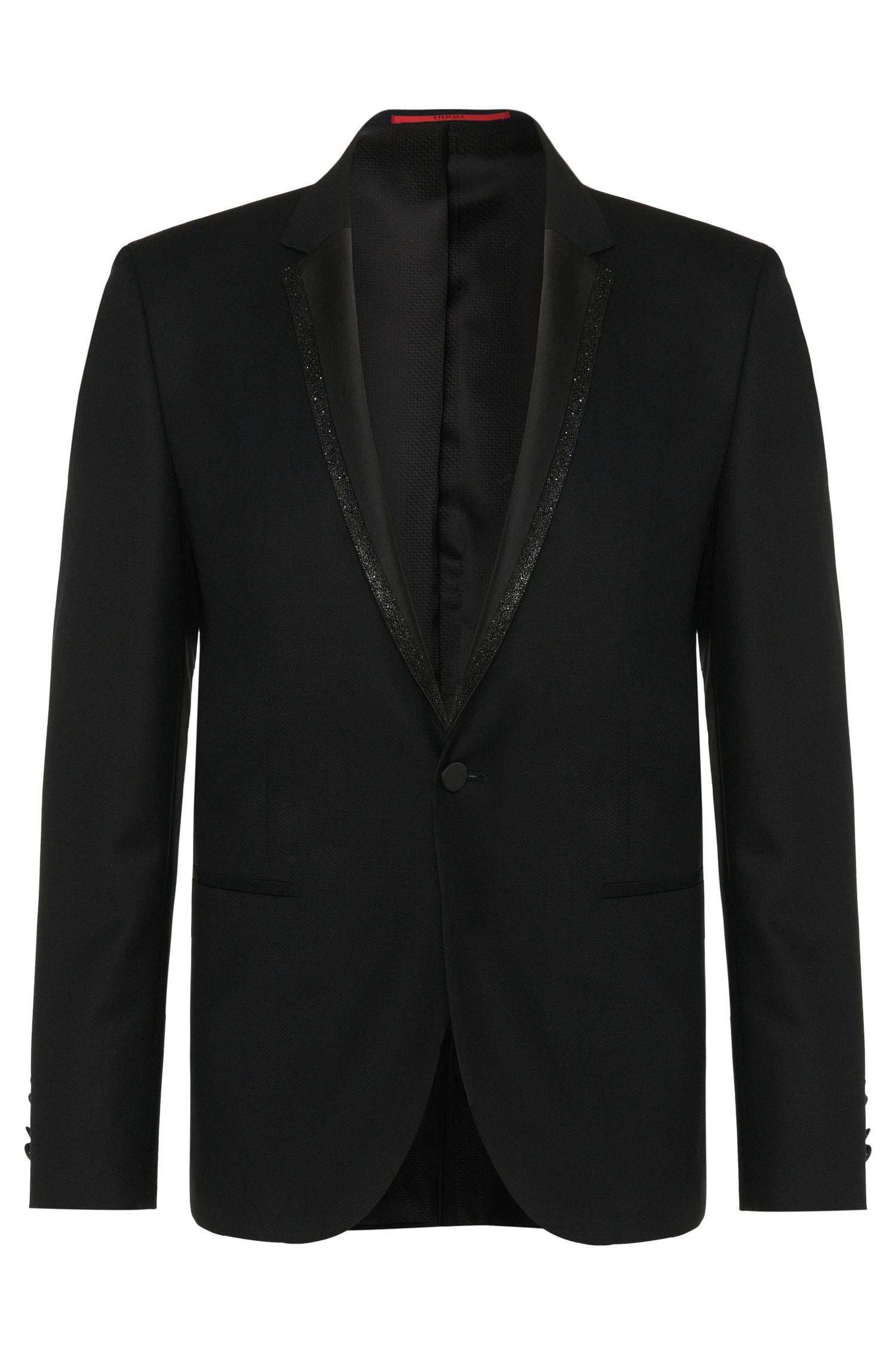 'Adrison'   Extra Slim Fit, Virgin Wool Glitter Lapel Sport Coat