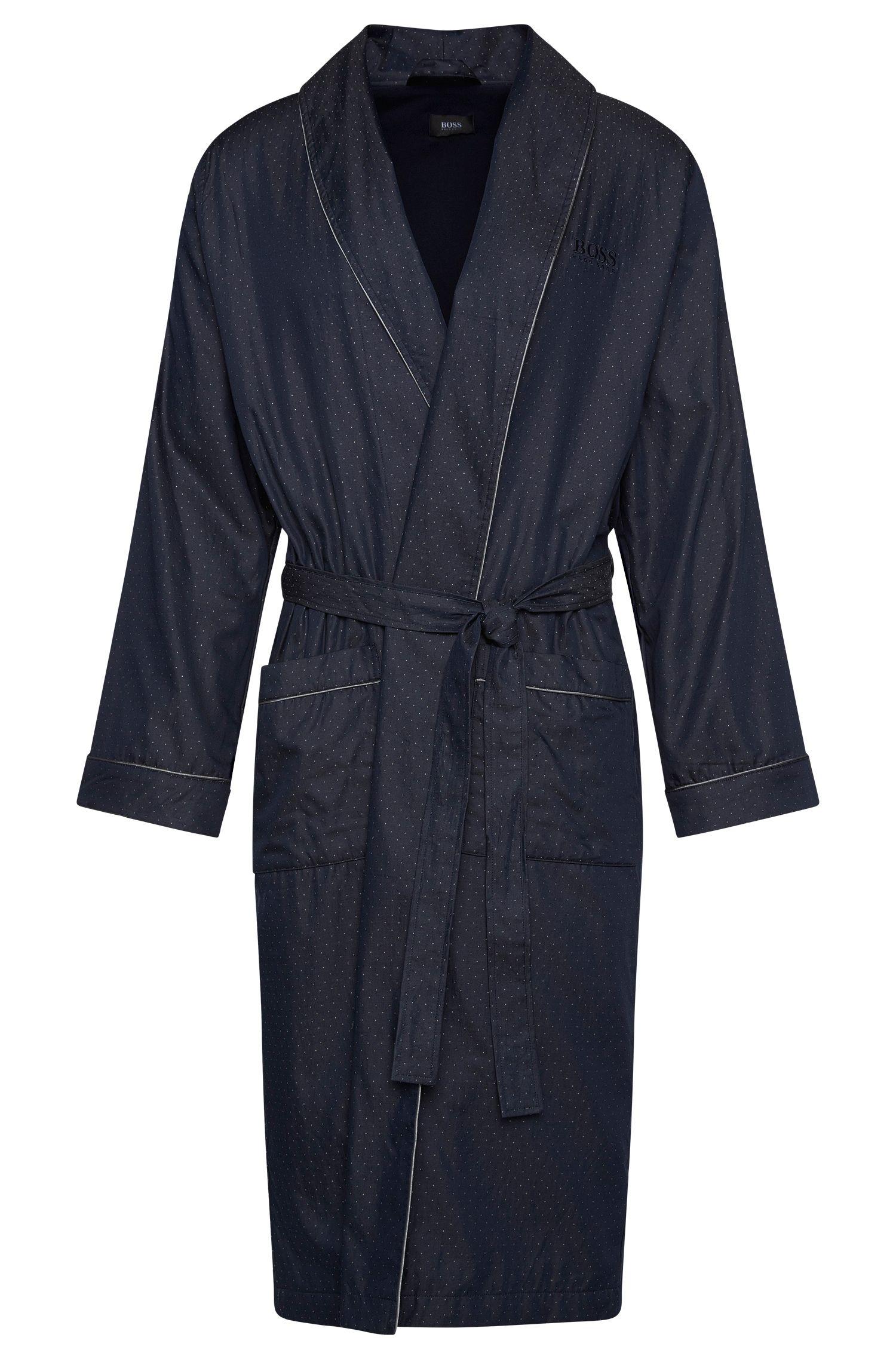 'Shawl Collar Robe' | Cotton Belted Robe