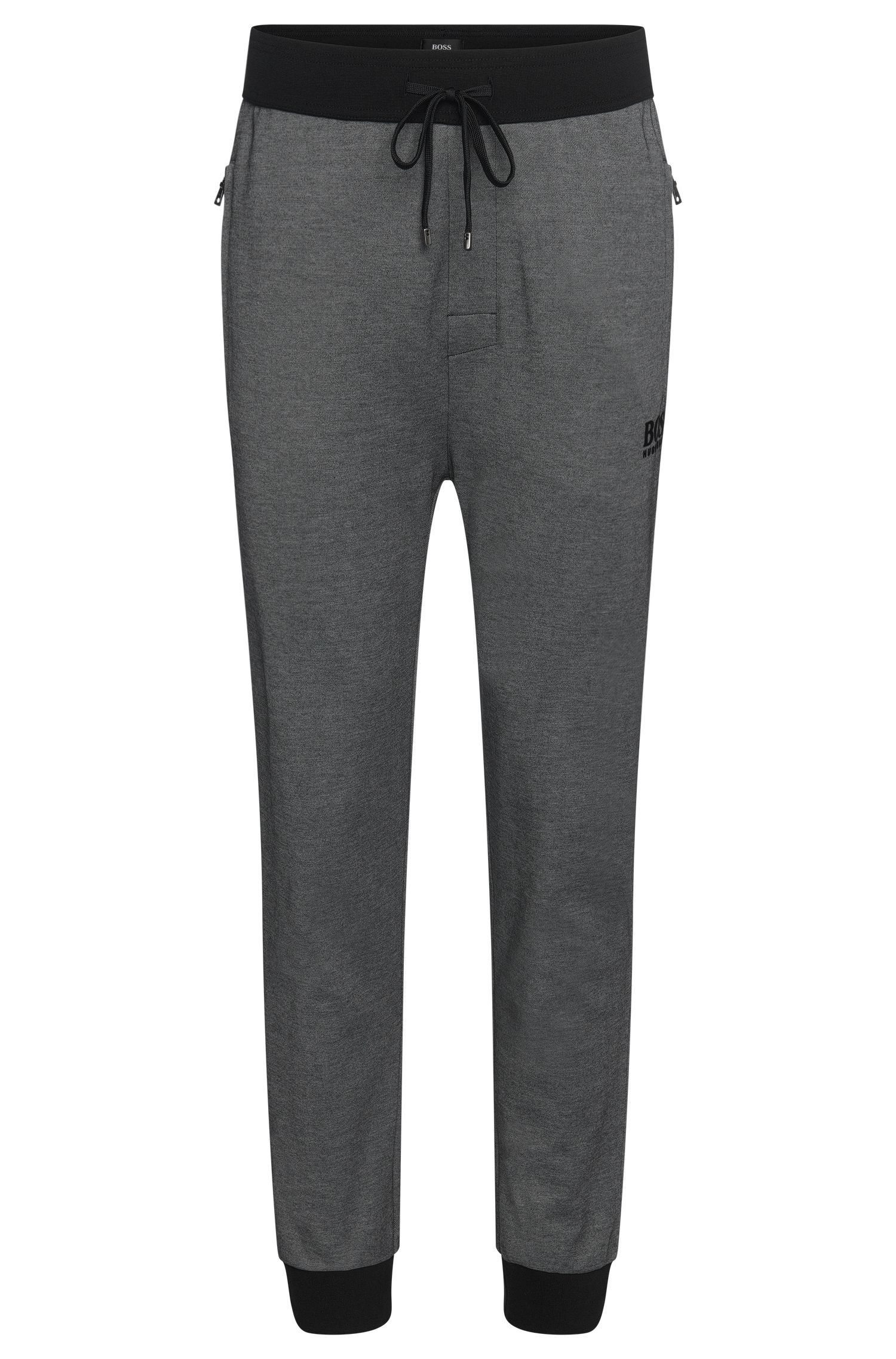 'Long Pant Cuffs' | Cotton Blend Drawstring Lounge Pants