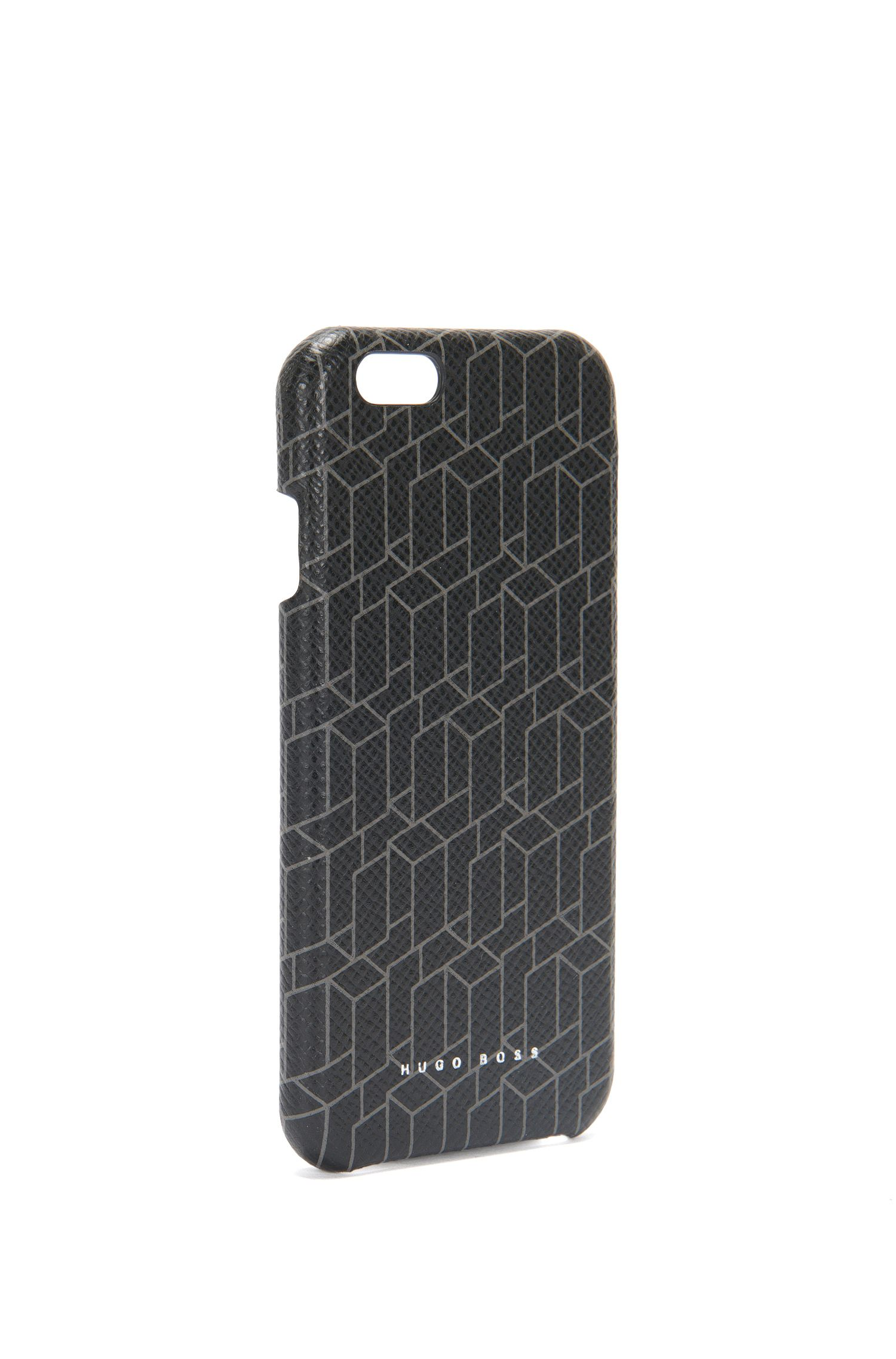 'Signature H Phone 6' | Calfskin Printed iPhone 6 Phone Case