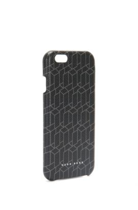 'Signature H Phone 6' | Calfskin Printed iPhone 6 Phone Case, Patterned