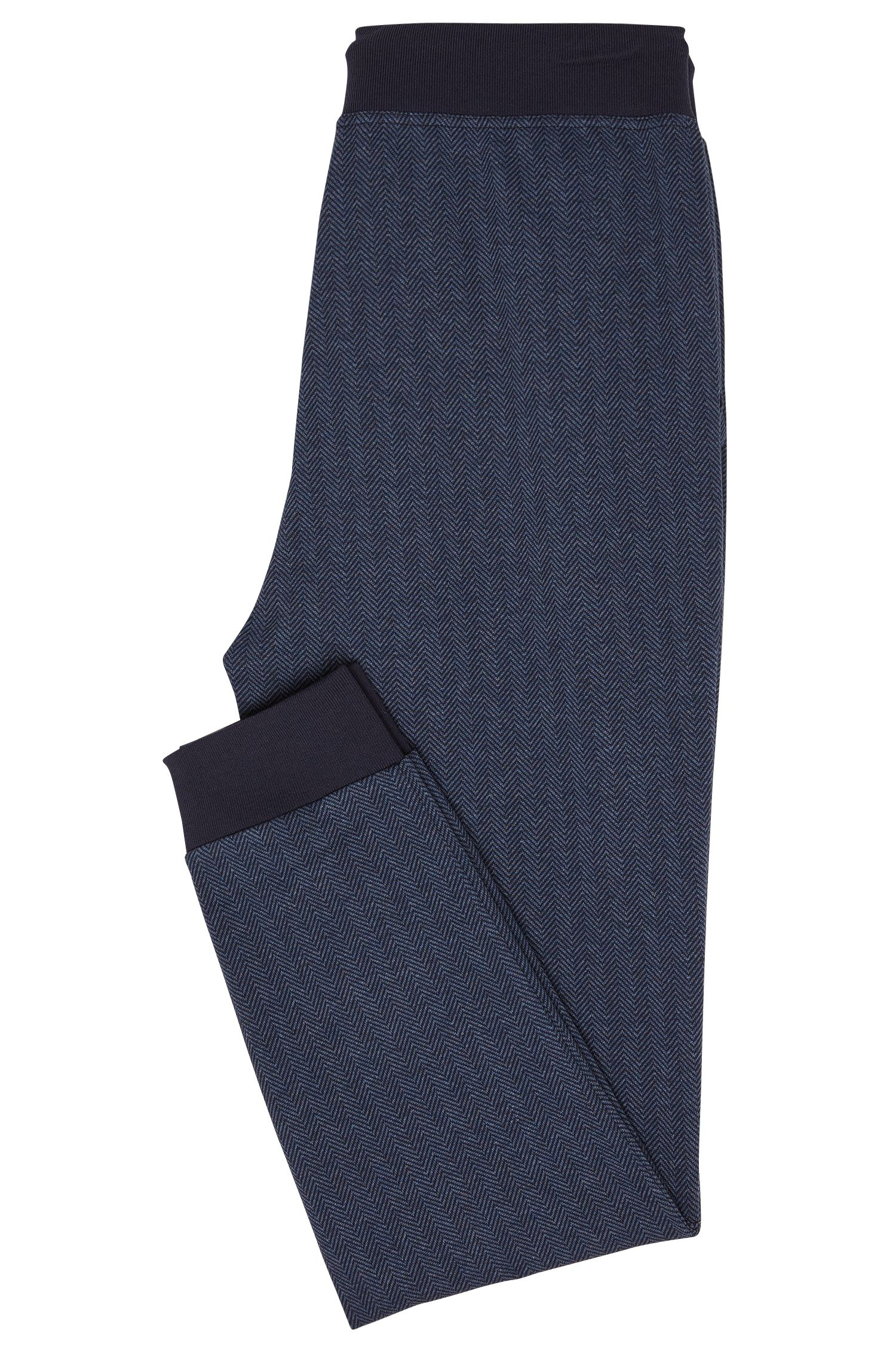 Cotton Jersey Lounge Pant | Long Pant Cuffs