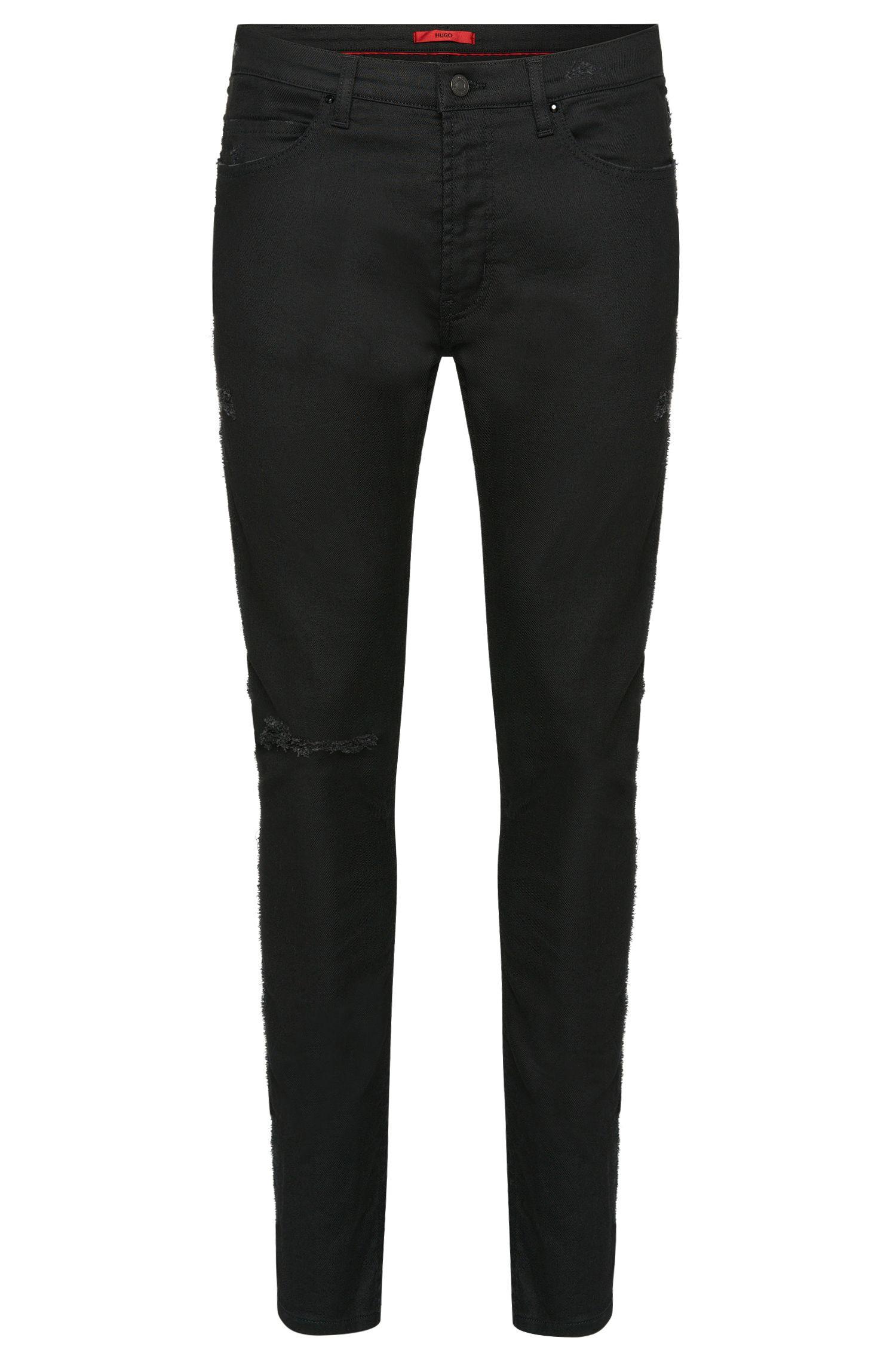 10 oz Stretch Cotton Blend Jeans, Skinny Fit | Hugo 734