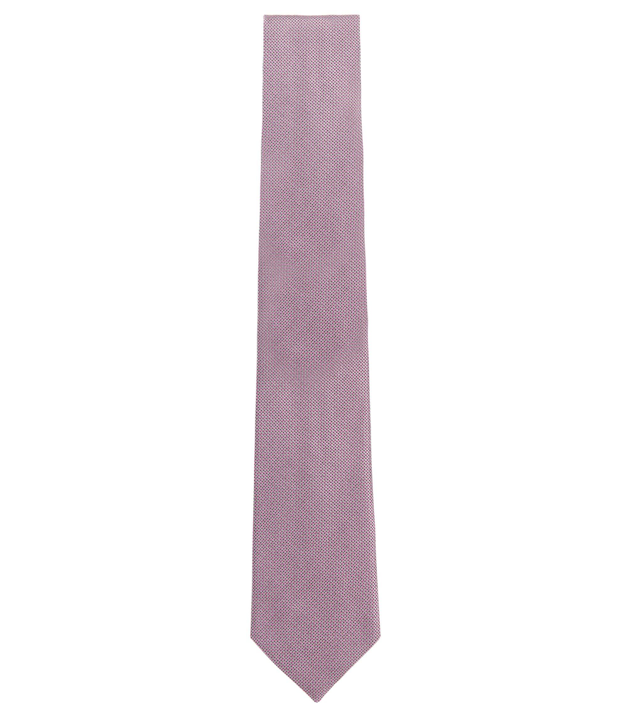 Italian Silk Tie, Open Pink