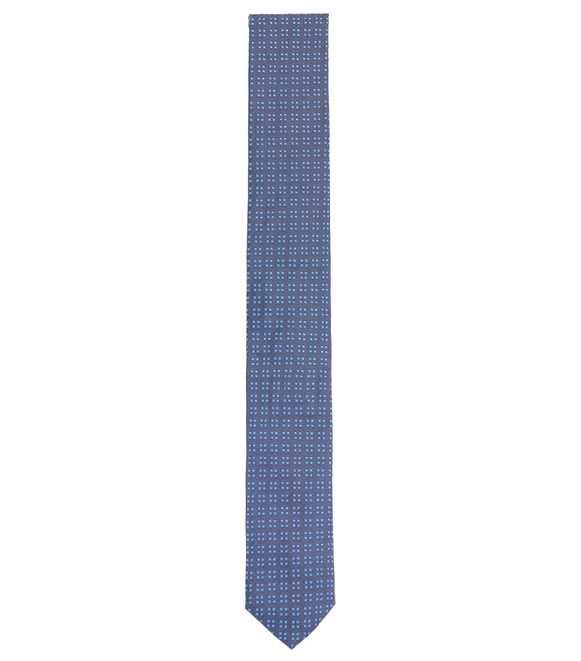 Italian Silk Slim Tie, Turquoise