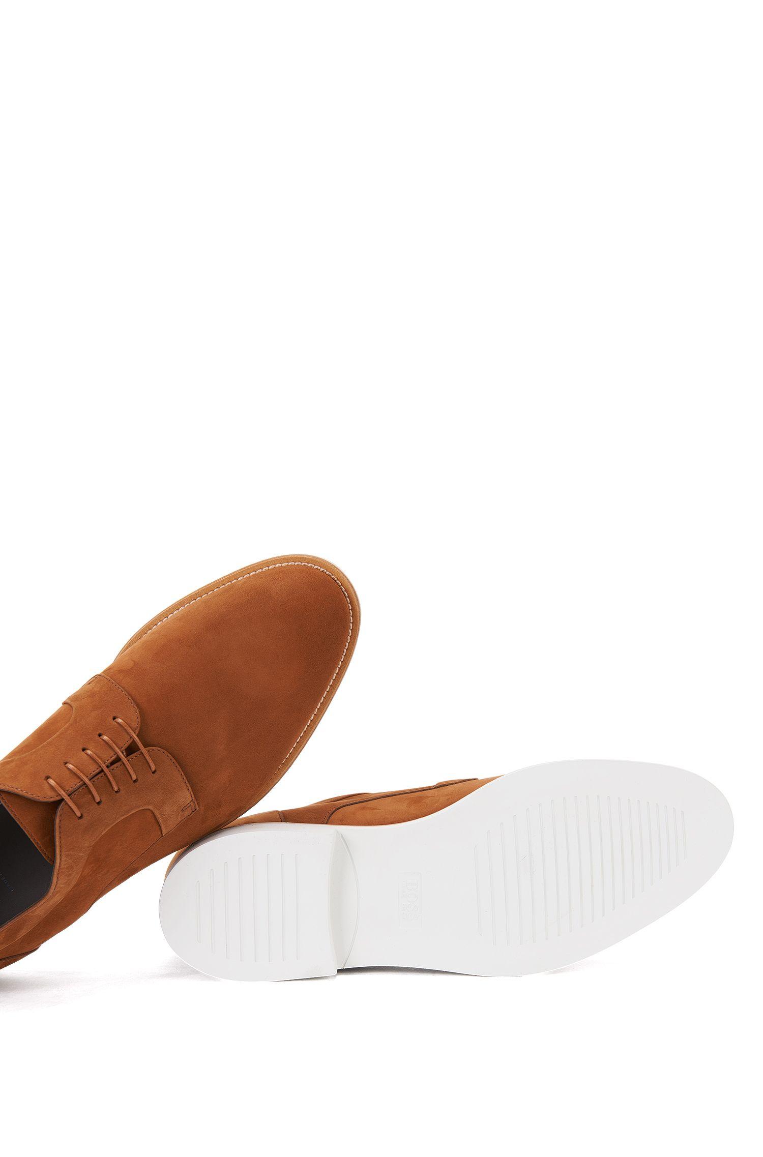 Italian Nubuck Derby Shoe   Ocean Derb Nu